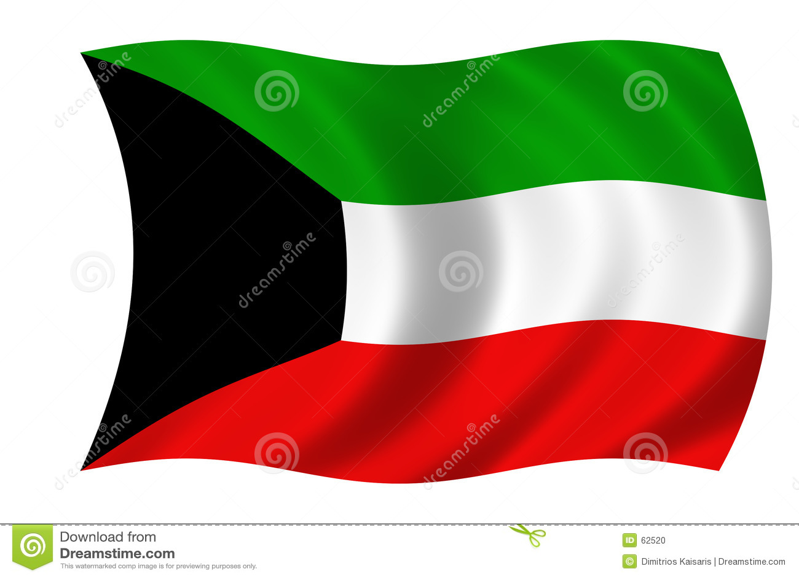 флаг Кувейт