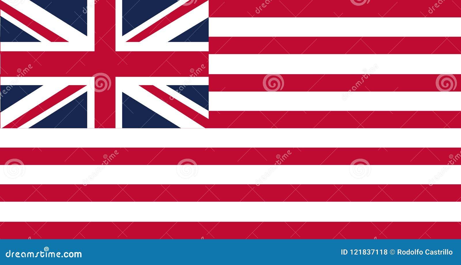 Флаг Соединенных Штатов Америки, часто называемый американец и флаг соединения