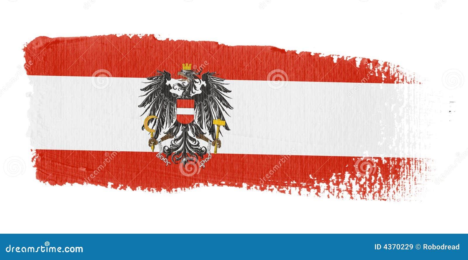 флаг brushstroke Австралии