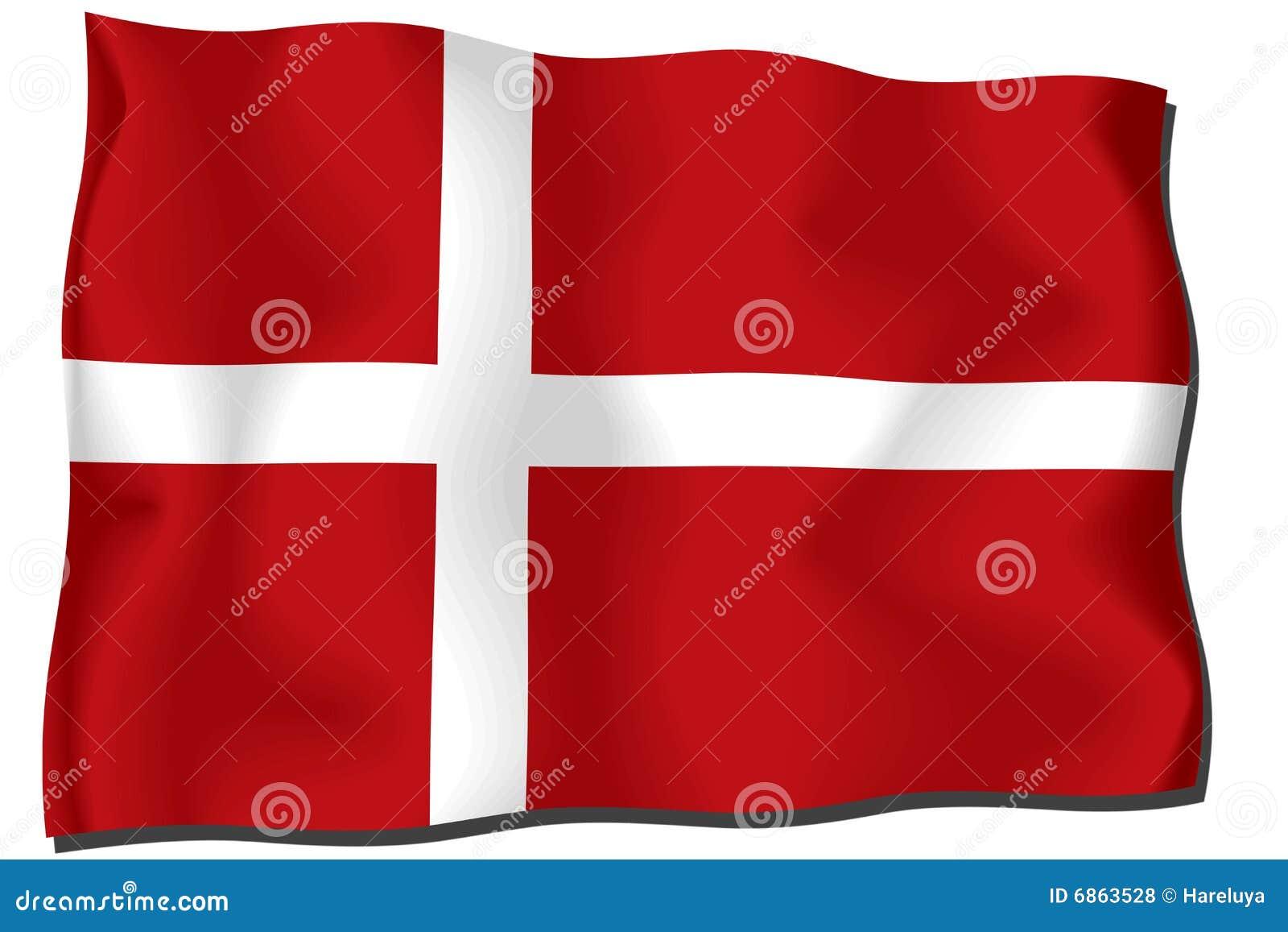 флаг danmark