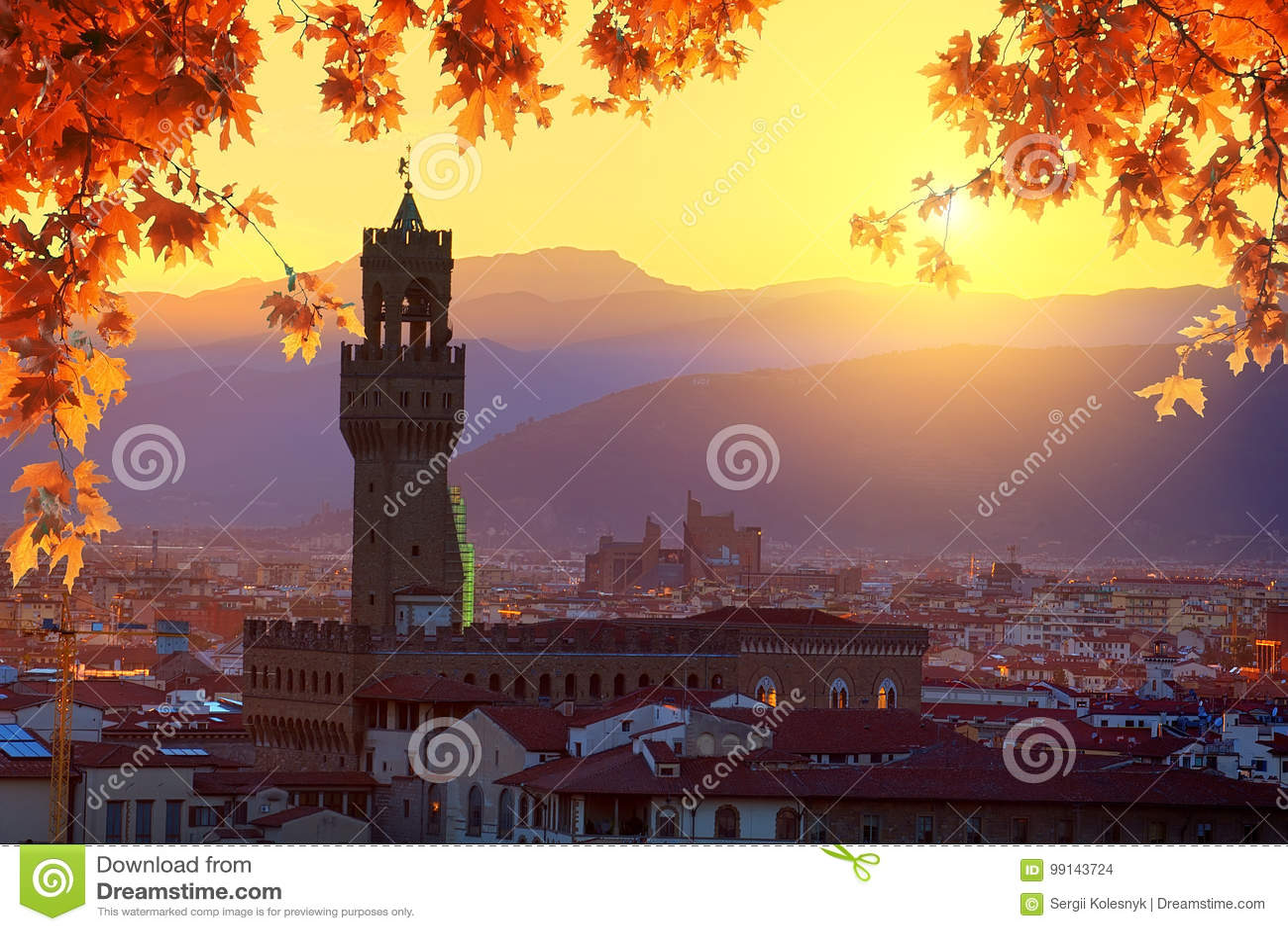 Флоренс в осени