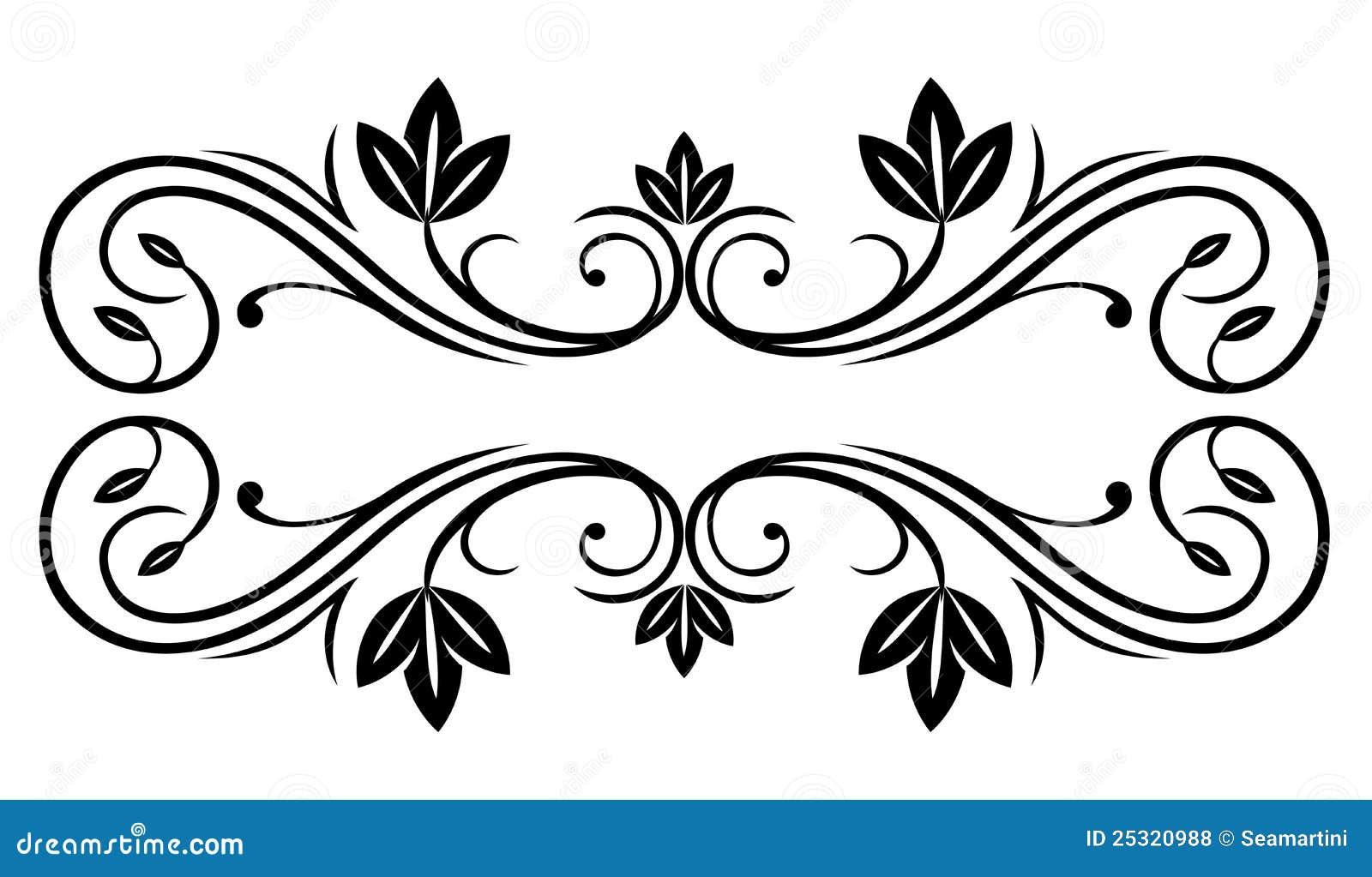 флористическая рамка