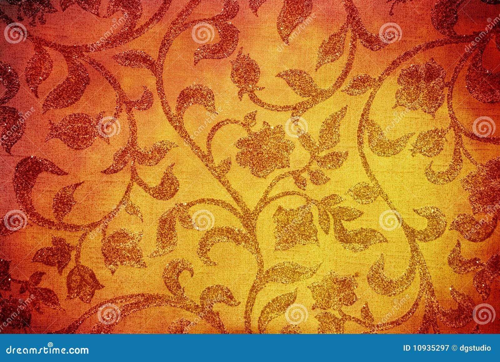 флористическая текстура