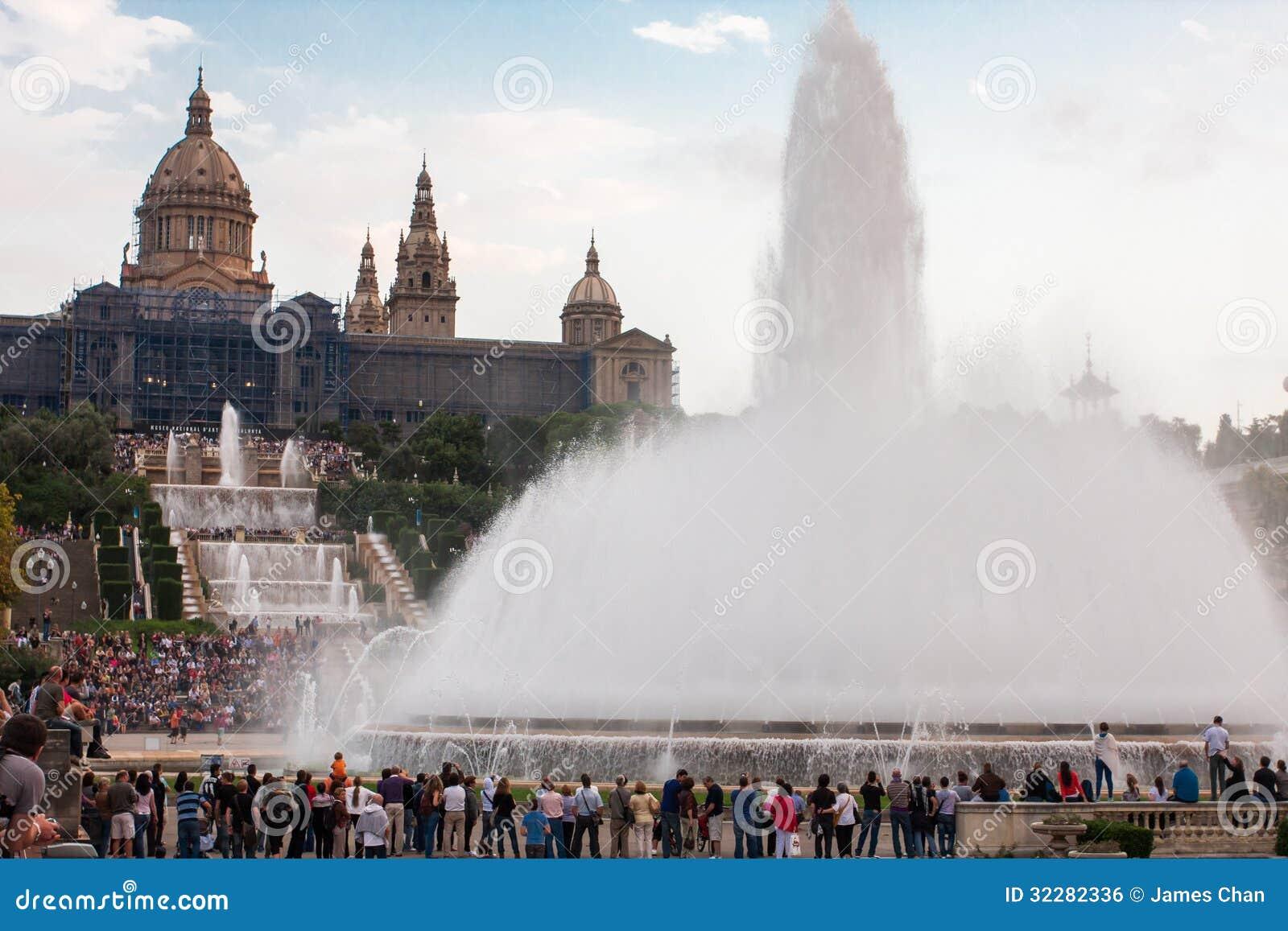 Фонтаны Барселоны