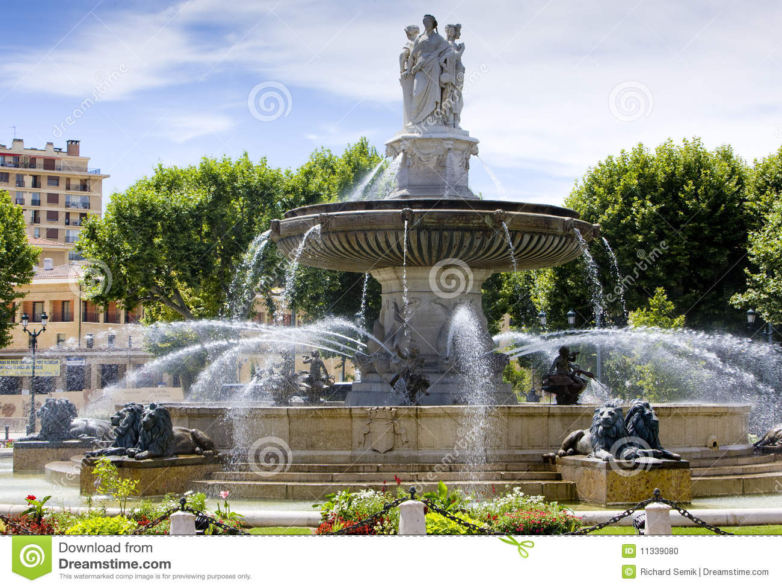фонтан Провансаль en AIX