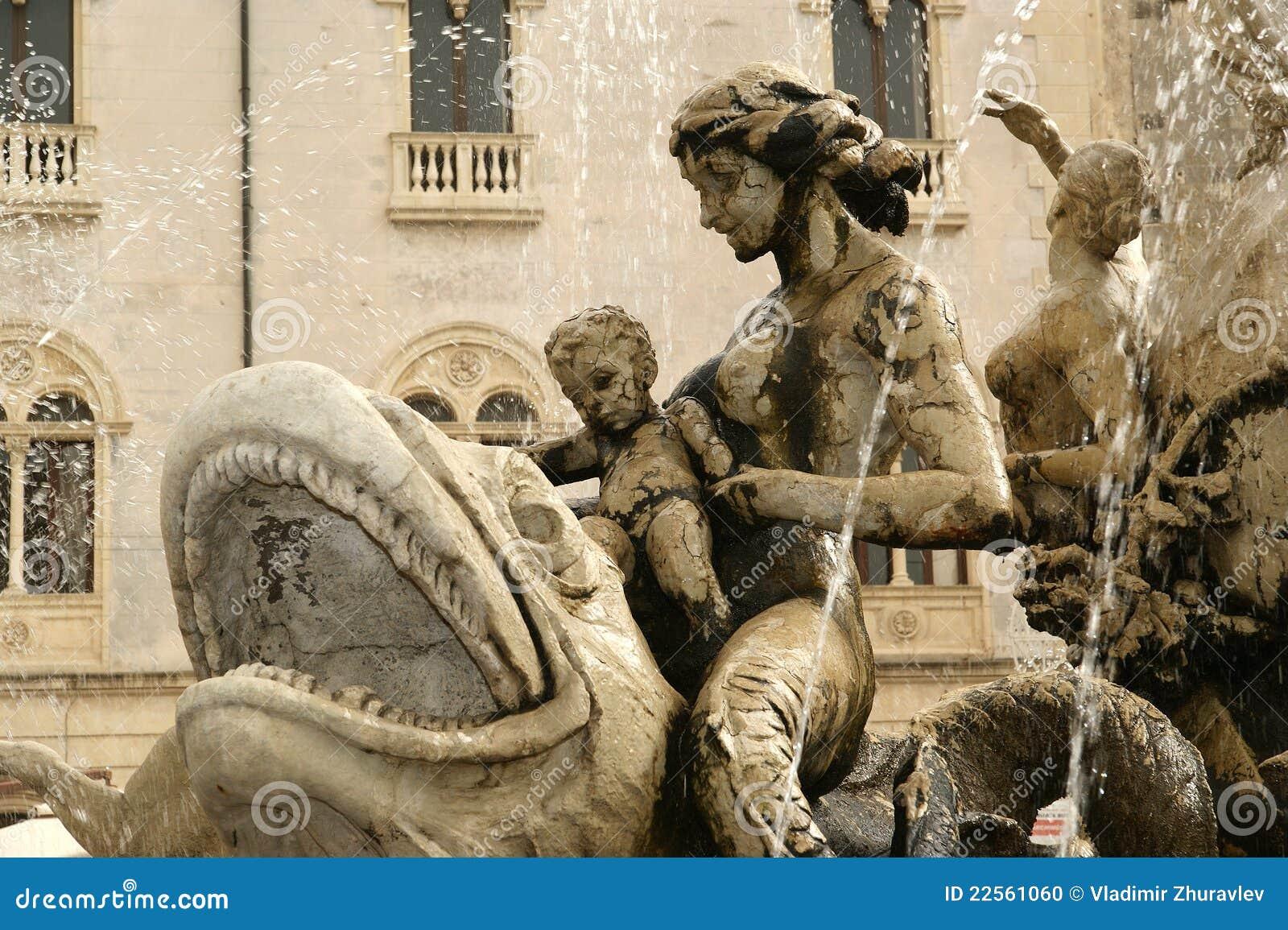 фонтан syracuse artemide