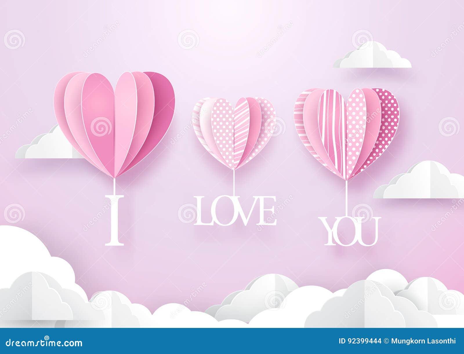Форма сердца раздувает смертная казнь через повешение с я тебя люблю словом над небом
