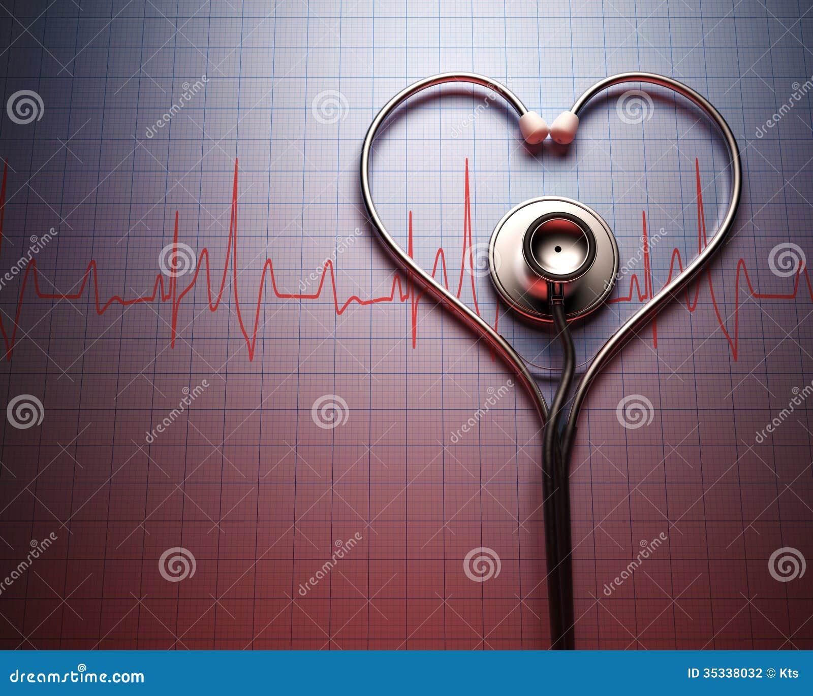 Форма сердца стетоскопа