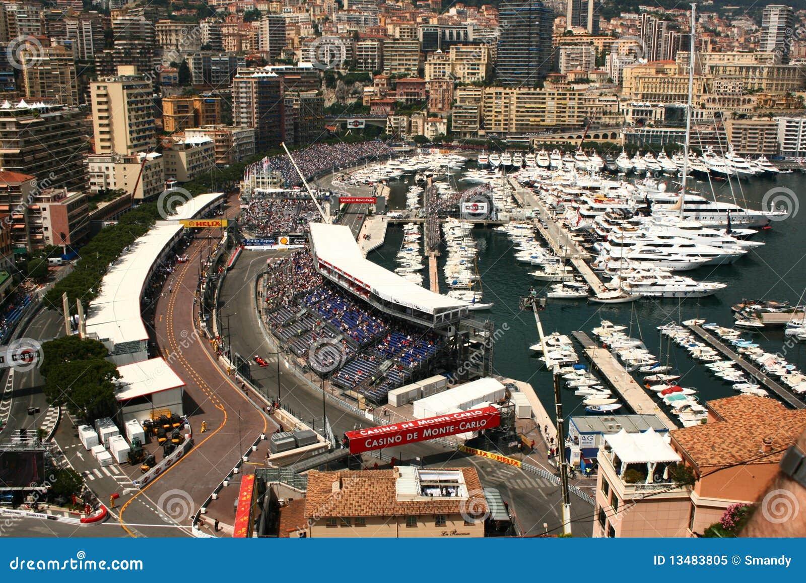 формула Монако одно цепи над взглядом