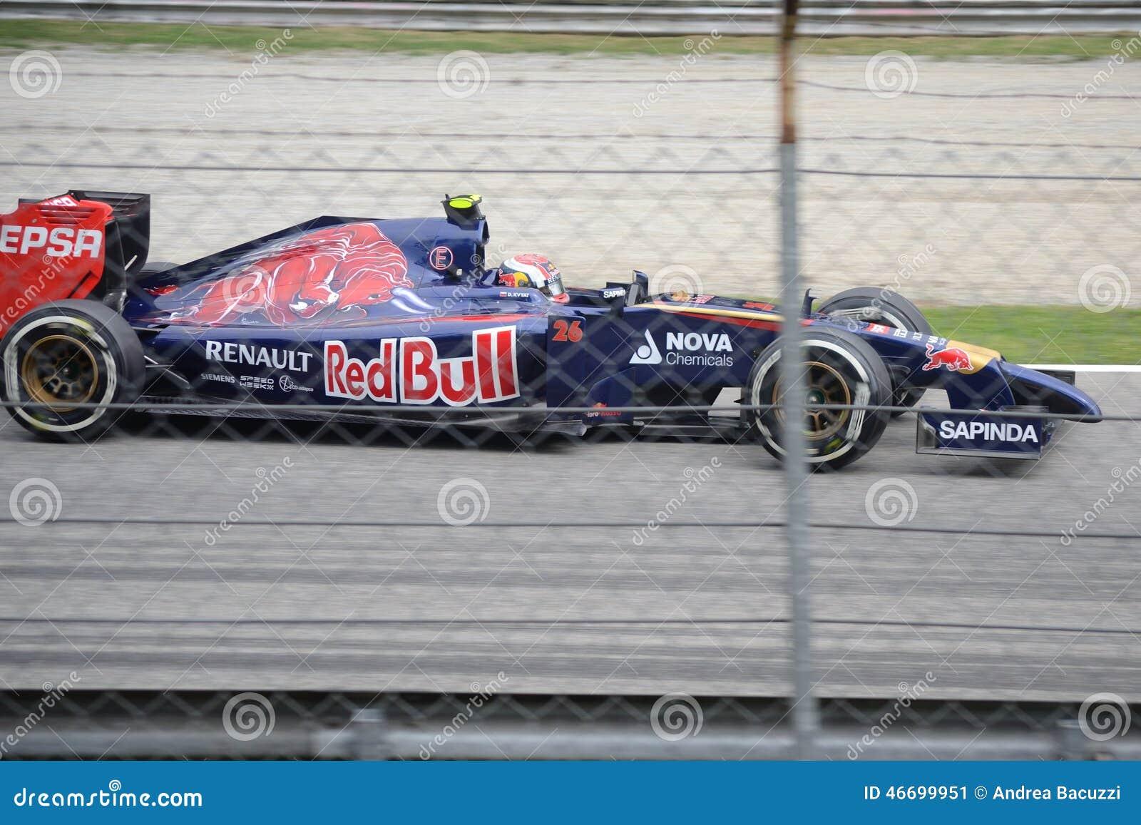 2014 Формула-1 Монца Toro Rosso - Daniil Kvyat