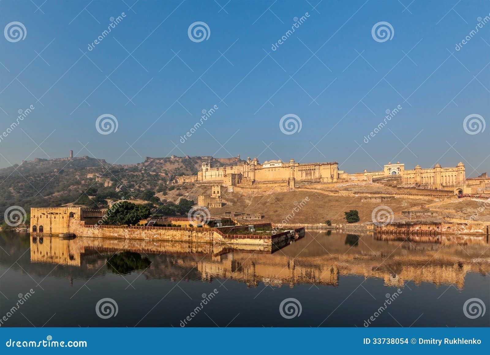 Форт Amer (Амбера), Раджастхан, Индия