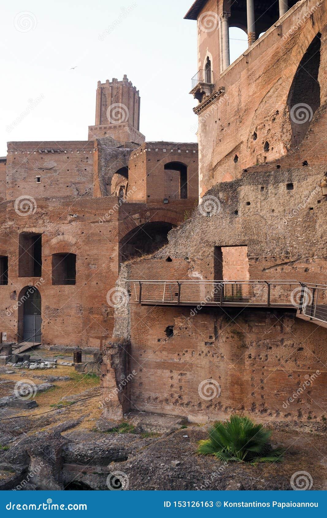 Форум Augustus в Риме, Италии