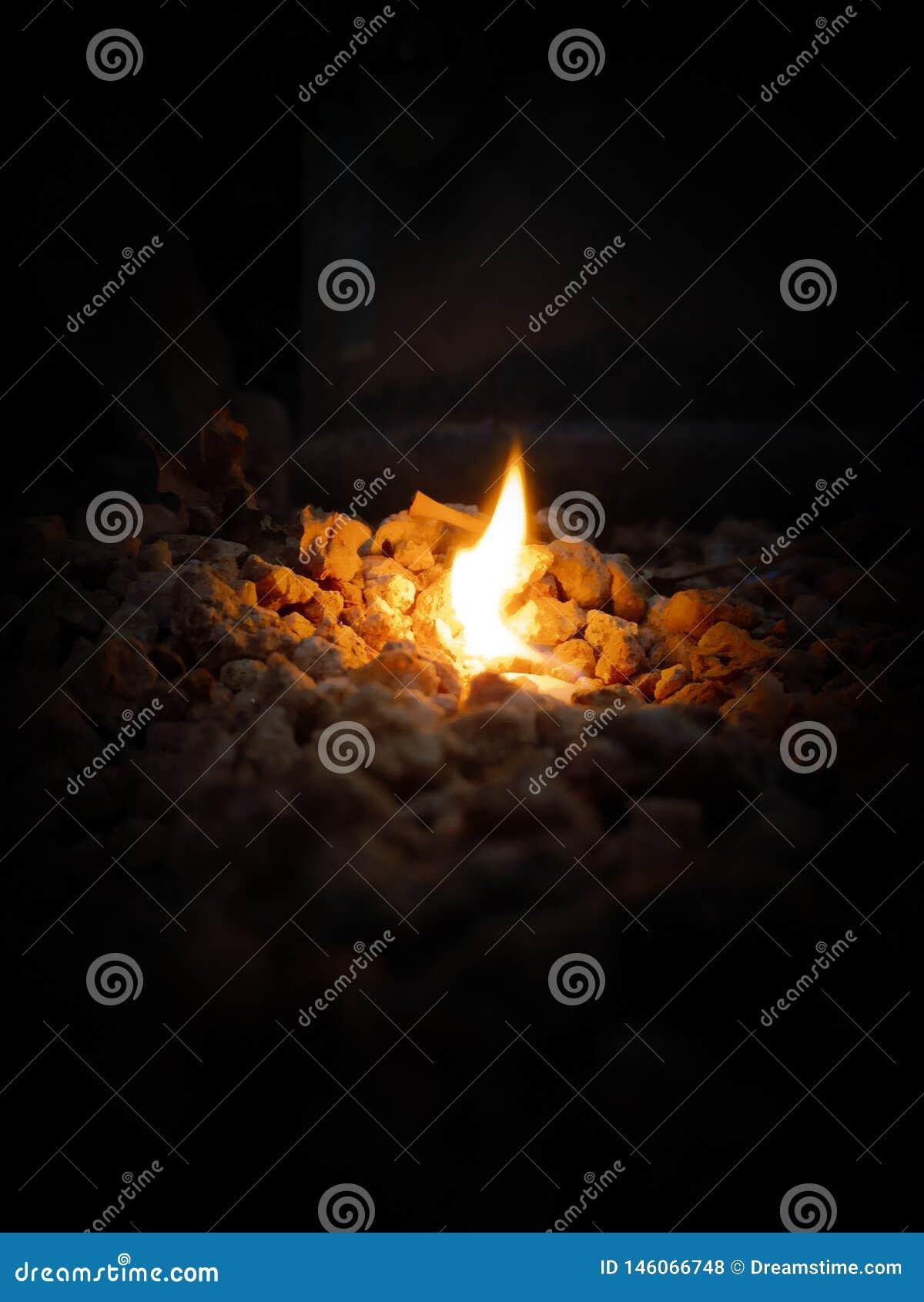 Фотография огня