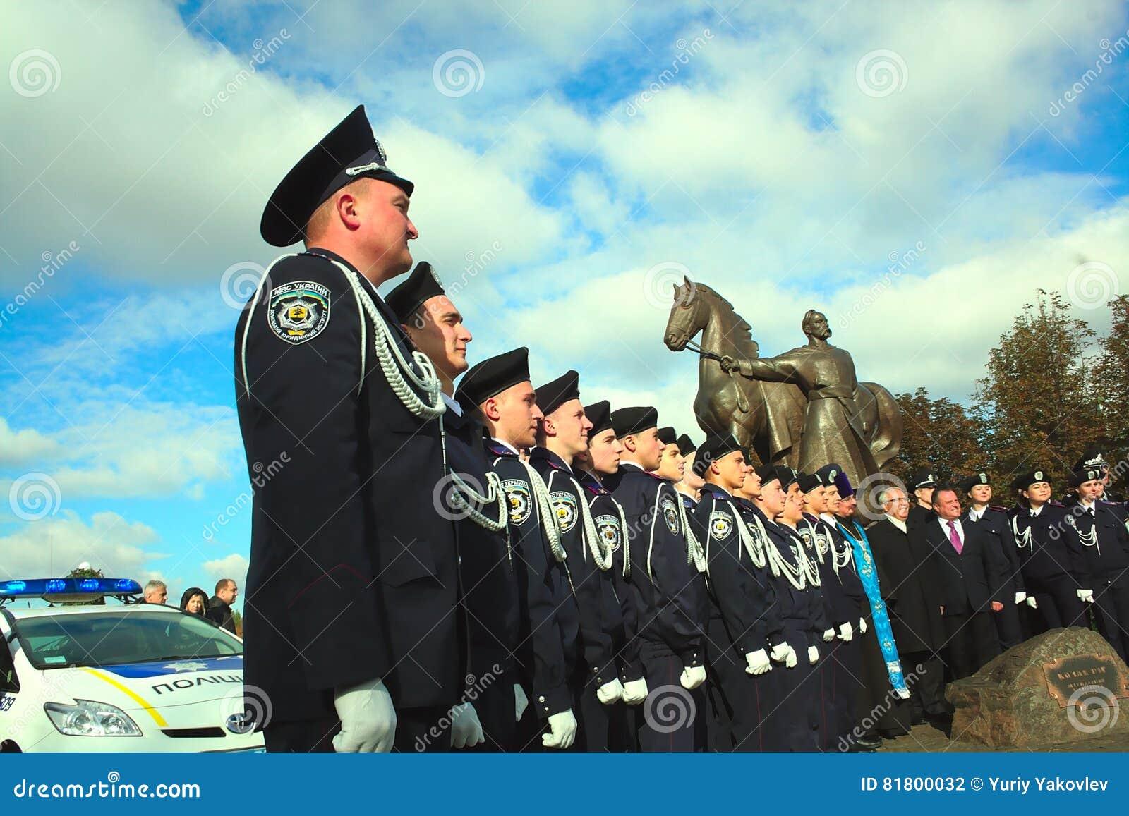 Фото молодых полицейских в Украине