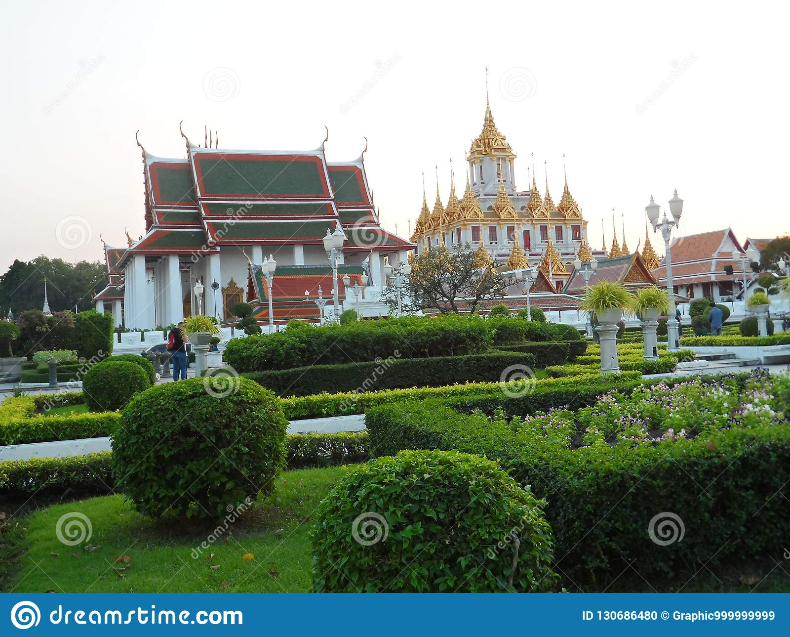 Фото парка сада в Бангкоке, Таиланде там много интересных тайцы и иностранных туристов мест и Придите ослабить и принять p