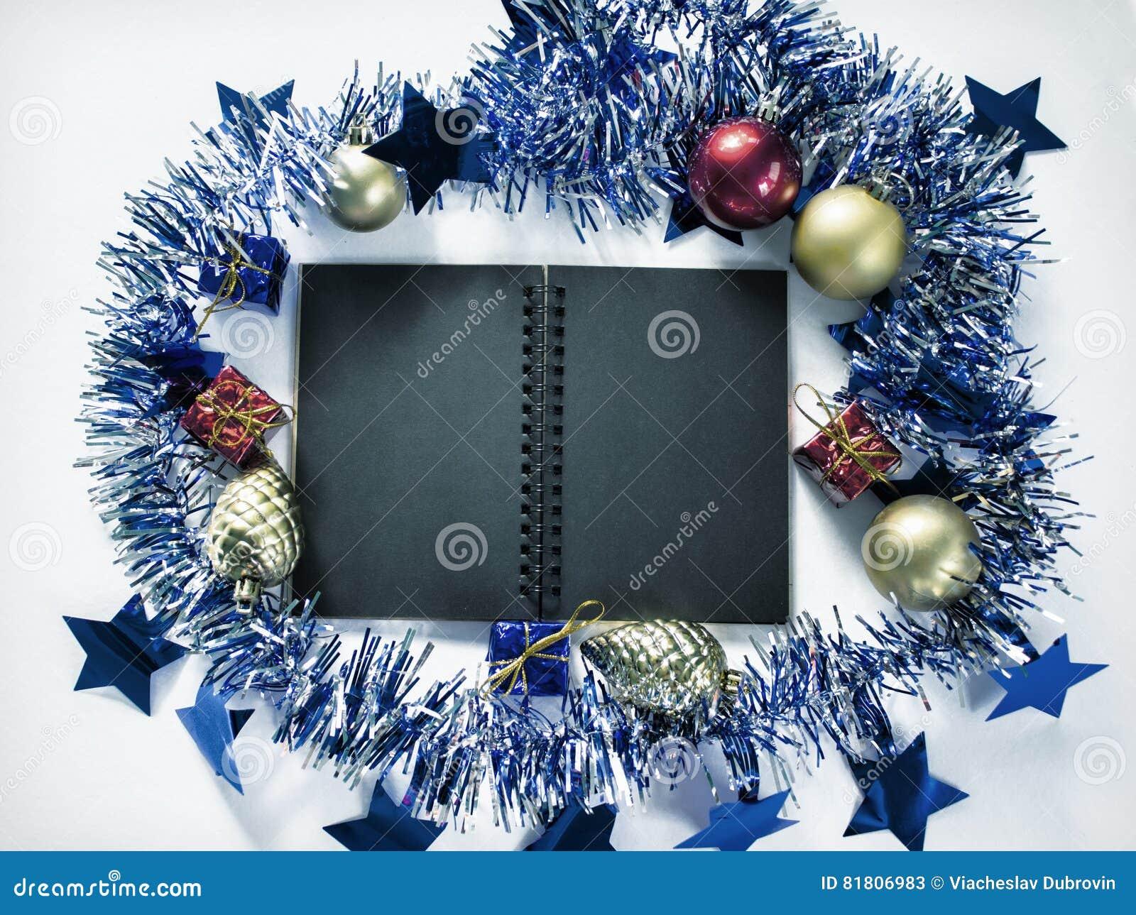 Фото предпосылки положения квартиры оформления рождества Винтажный фон рождества