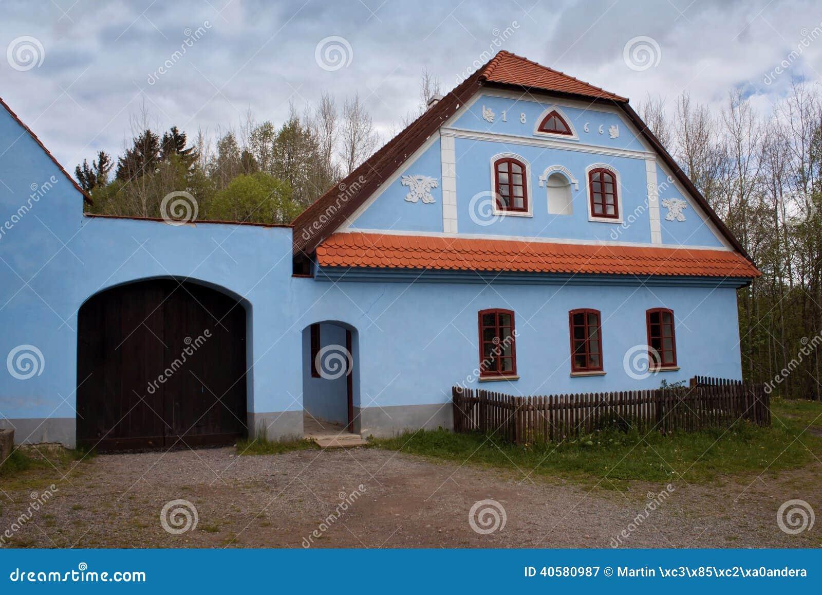 Фольклорный музей Vesely Kopec в чехии