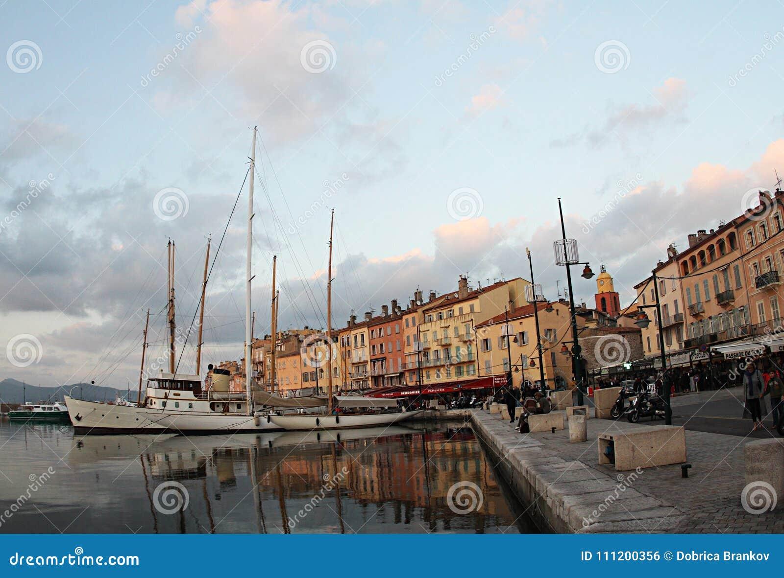 Франция, порт St Tropez