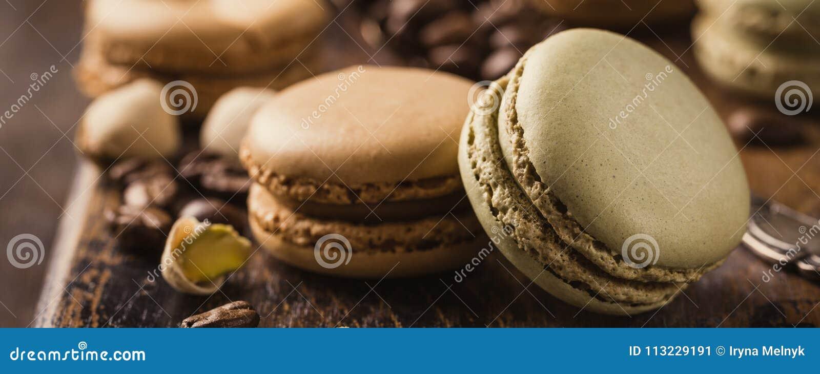 Французский кофе Macarons
