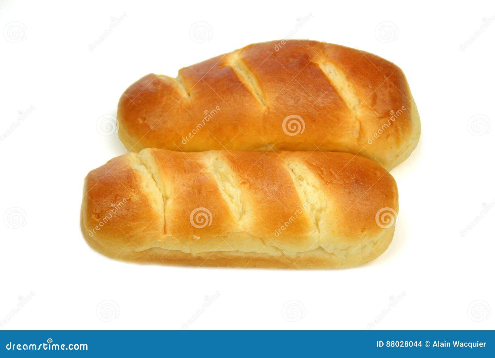 Французский хлеб молока