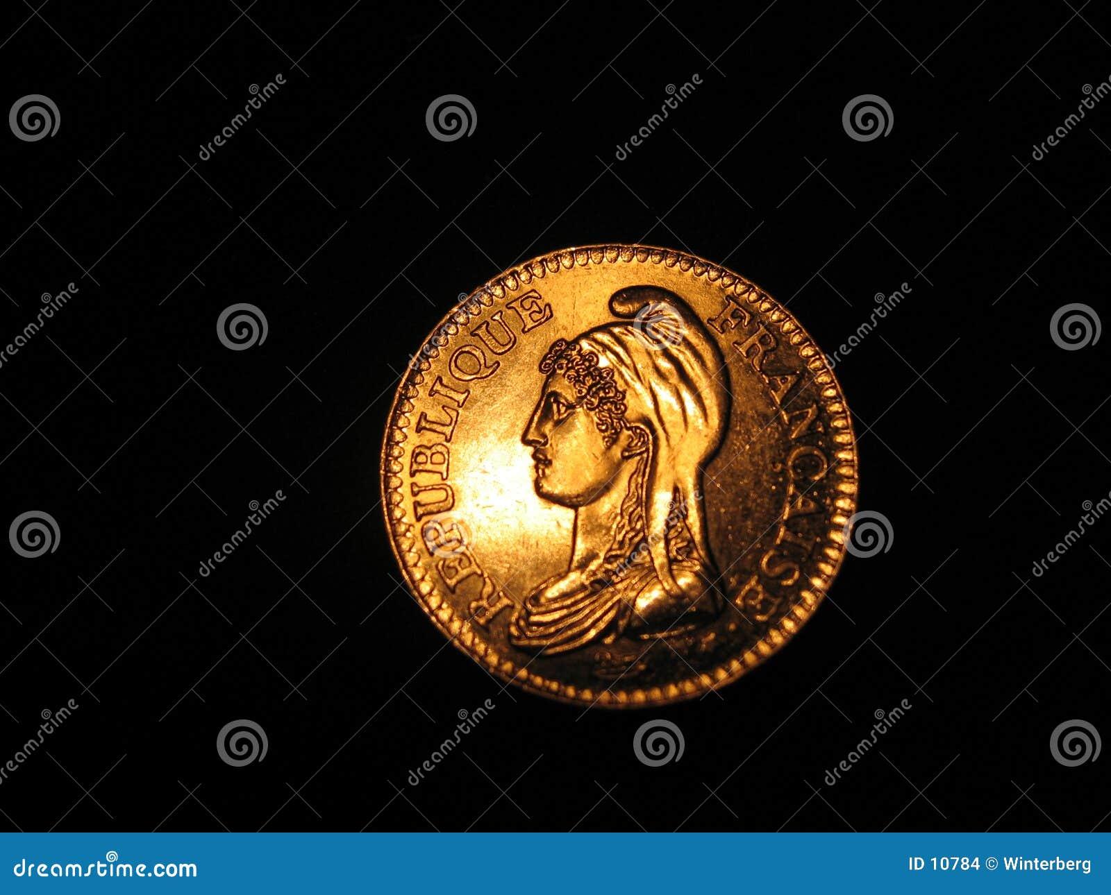 франчуз монетки