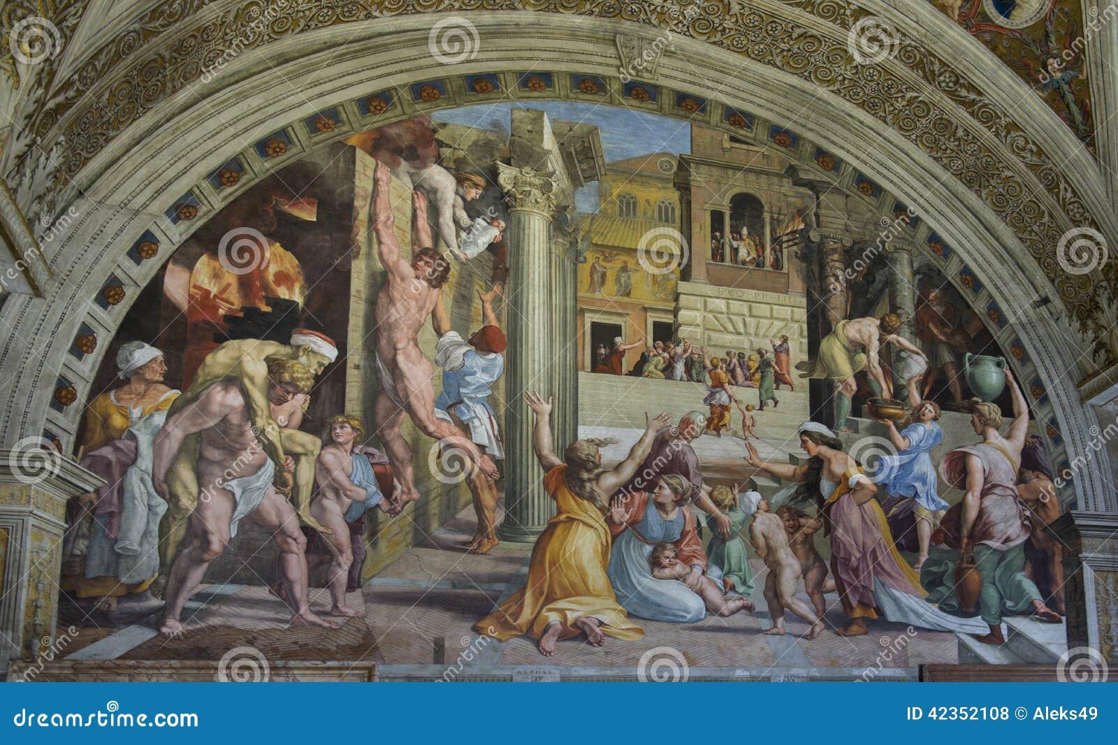 Фрески Ватикана Италия