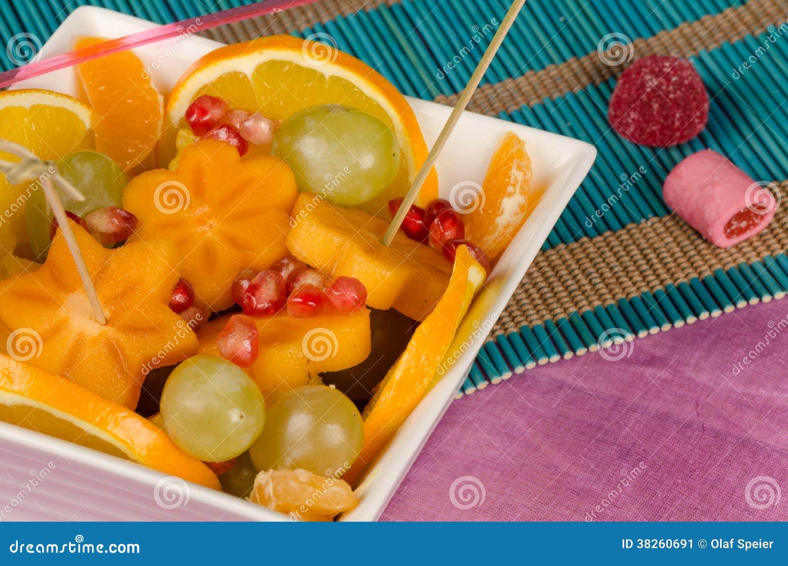 Салат для детей из фруктов рецепт с для детей