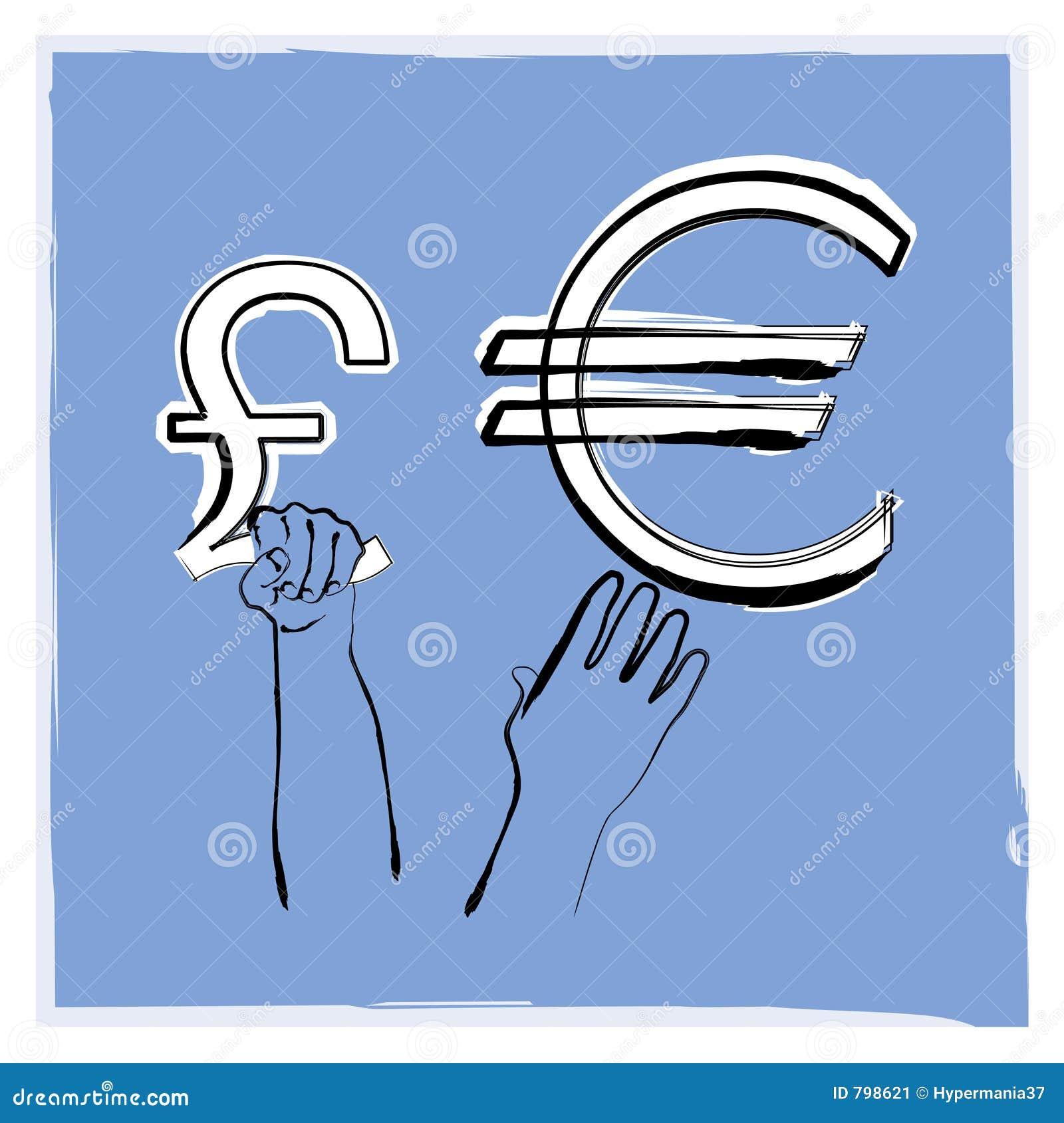 фунт евро