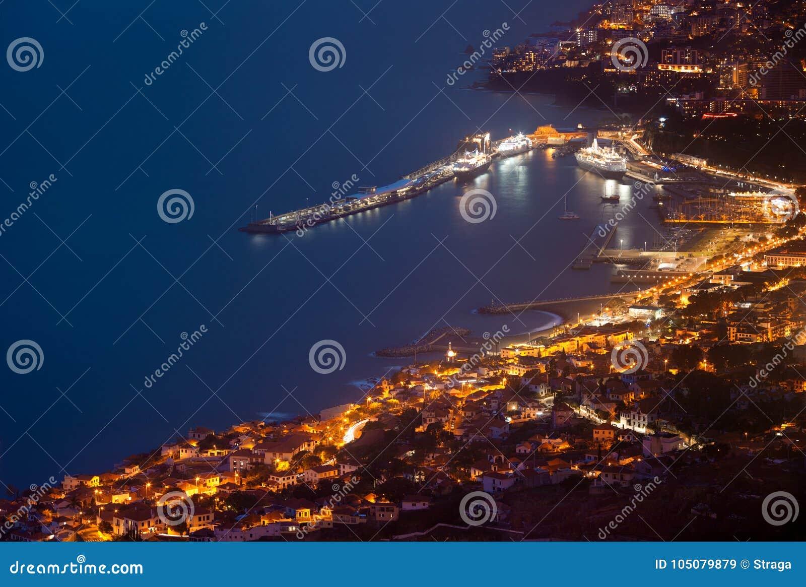 Фуншал к ноча, Мадейра