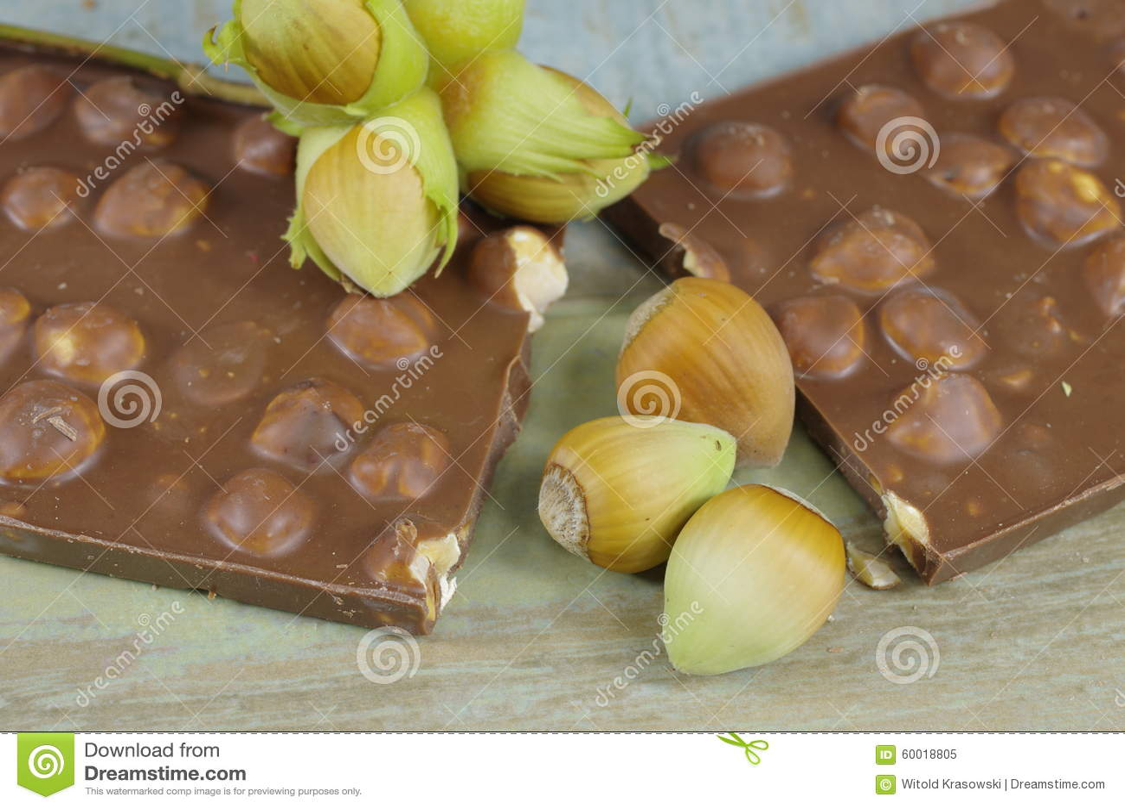 Фундуки и шоколад