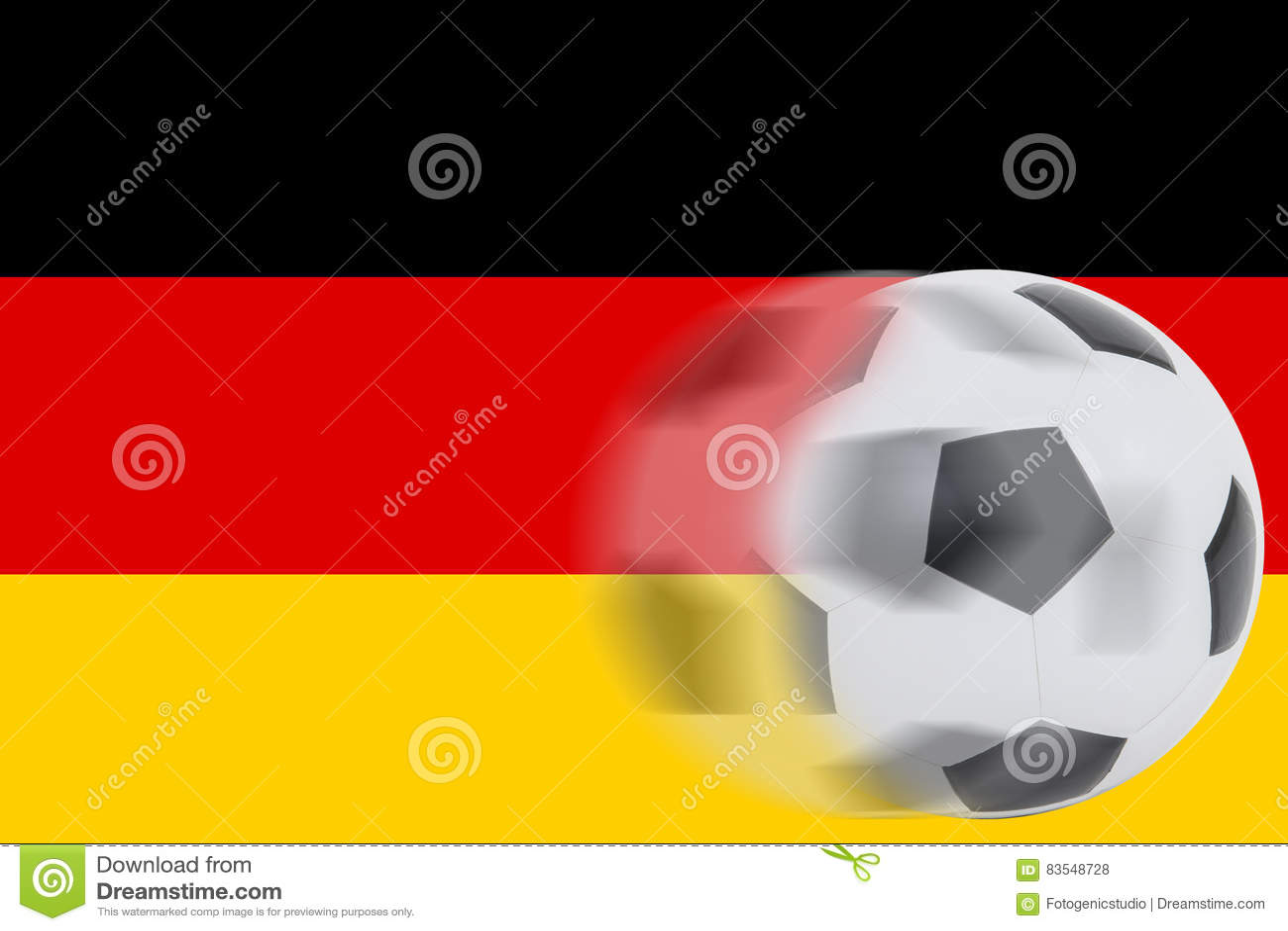 Текст про футбол на немецком