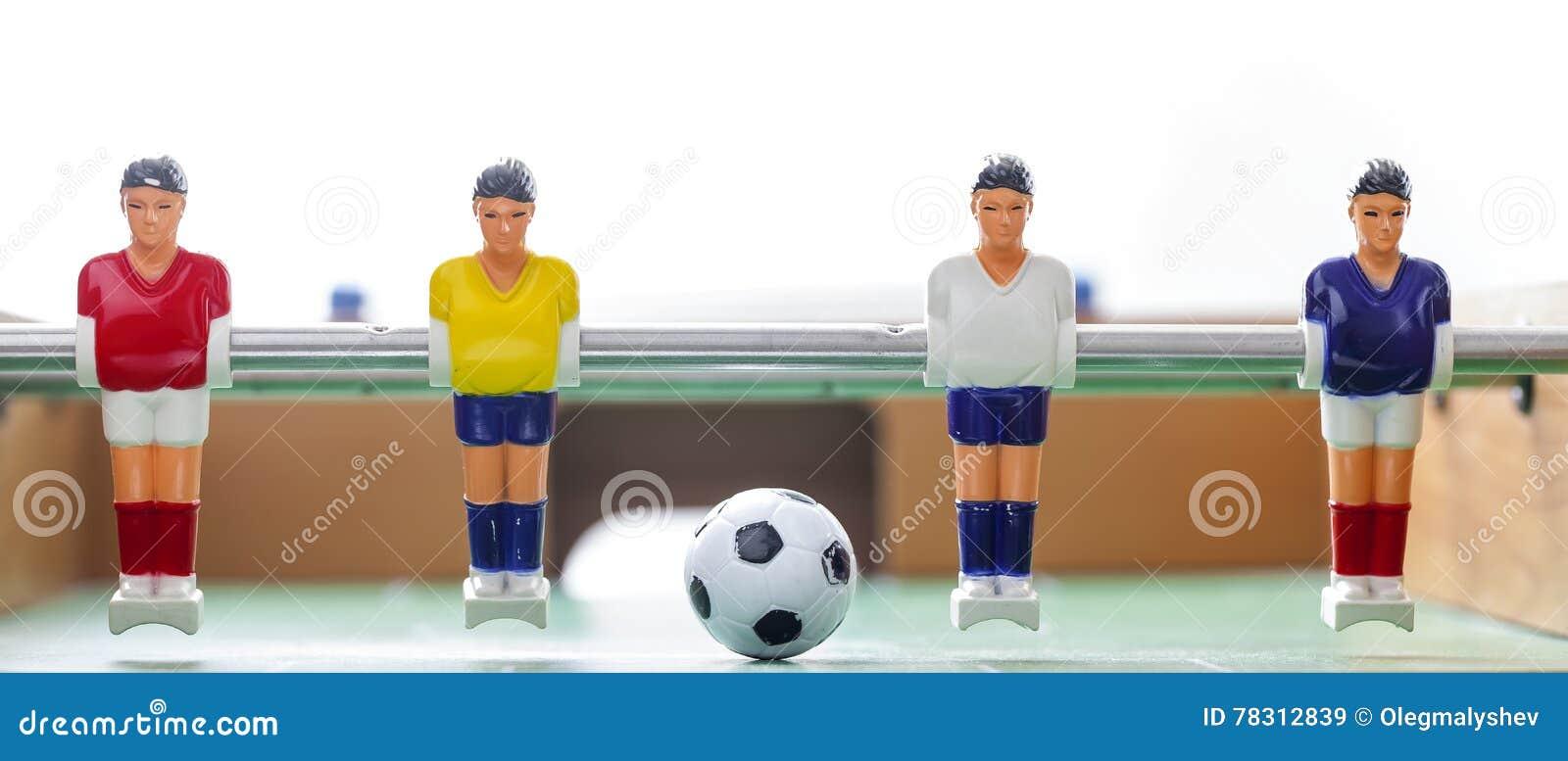 Футбол таблицы Foosball teame спорта футболистов
