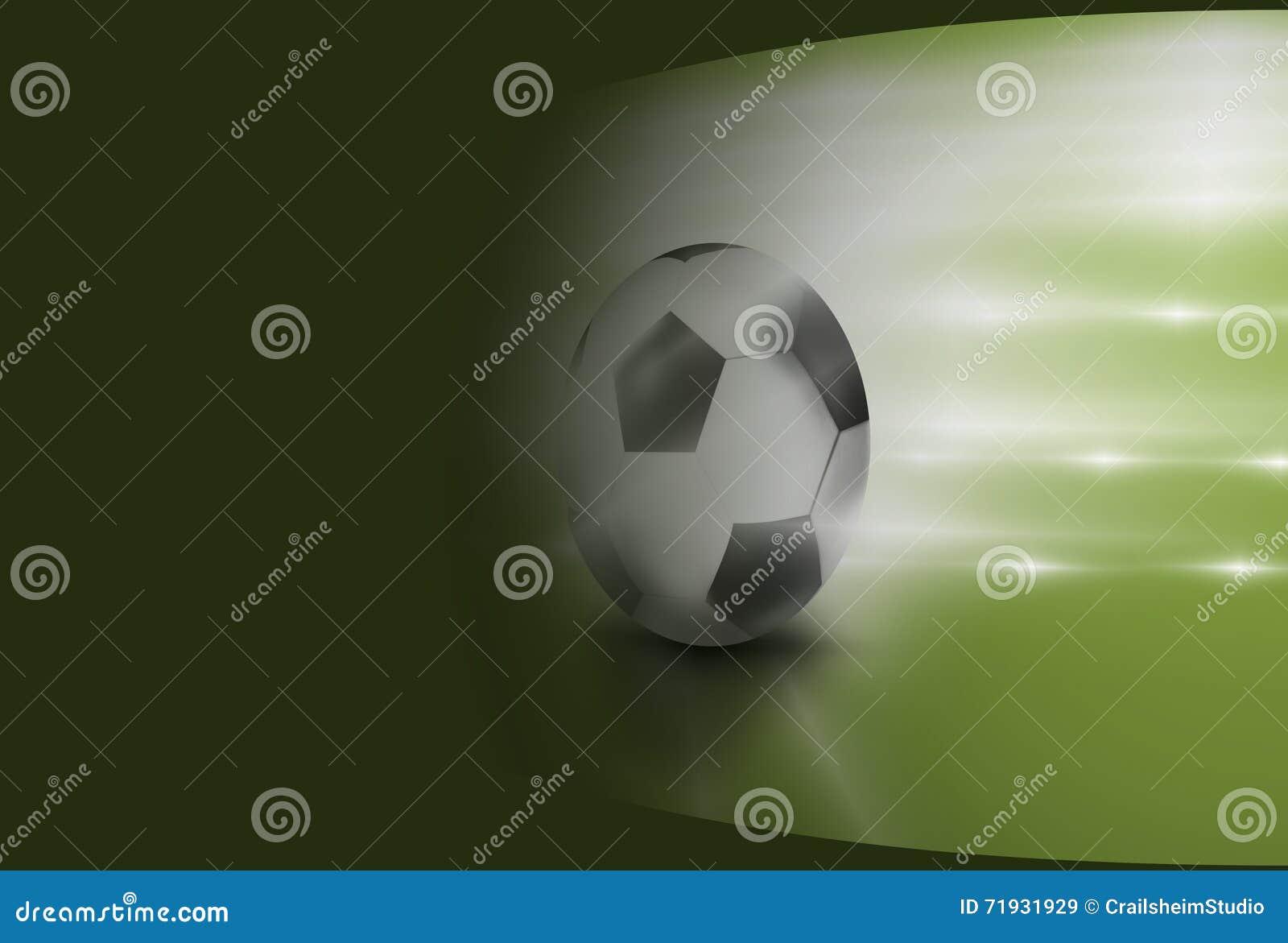 Футбол 3D футбола спорта