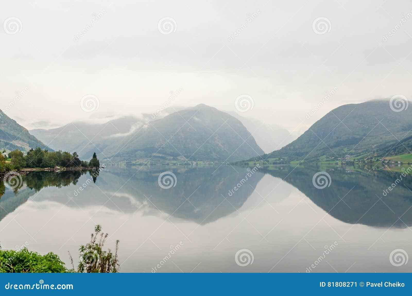 фьорд Норвегия