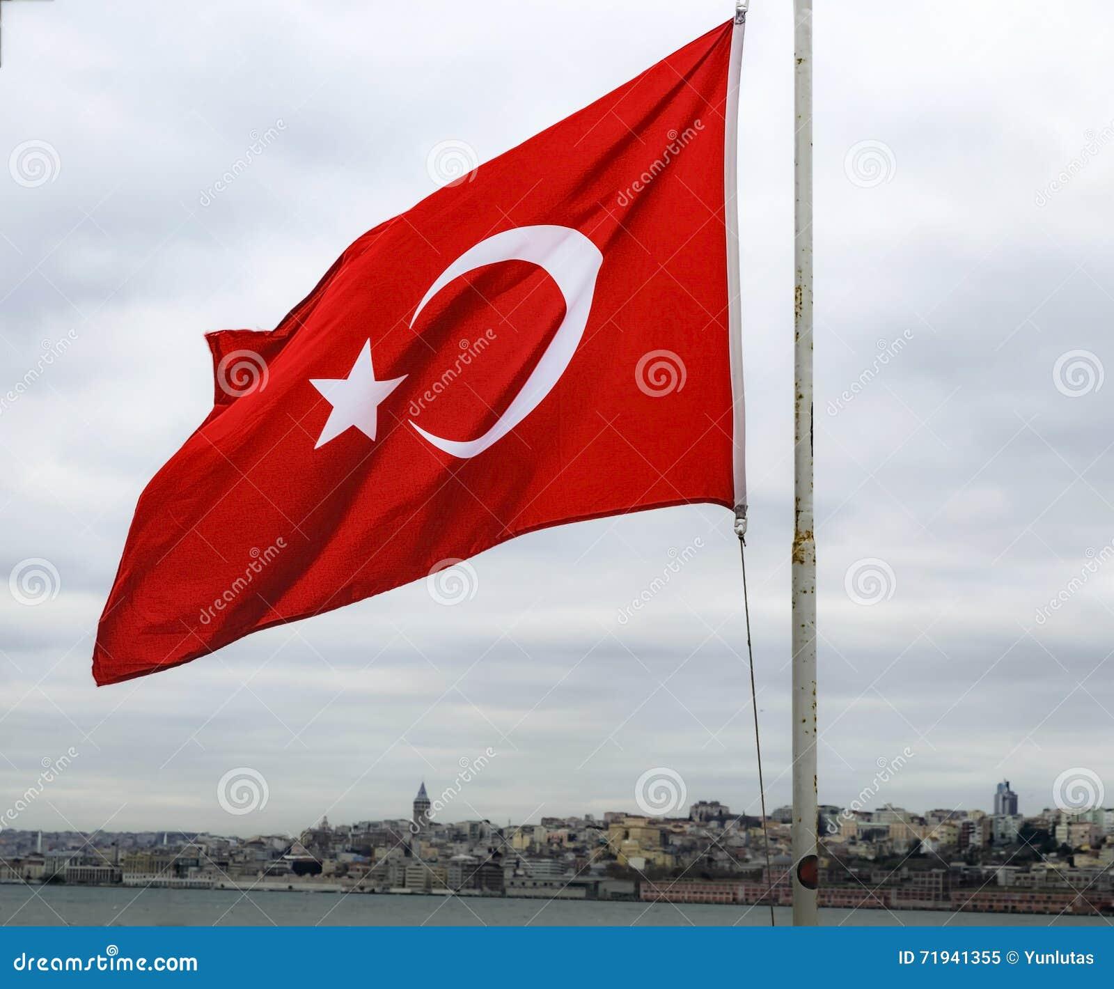 Флаг Республики Турция