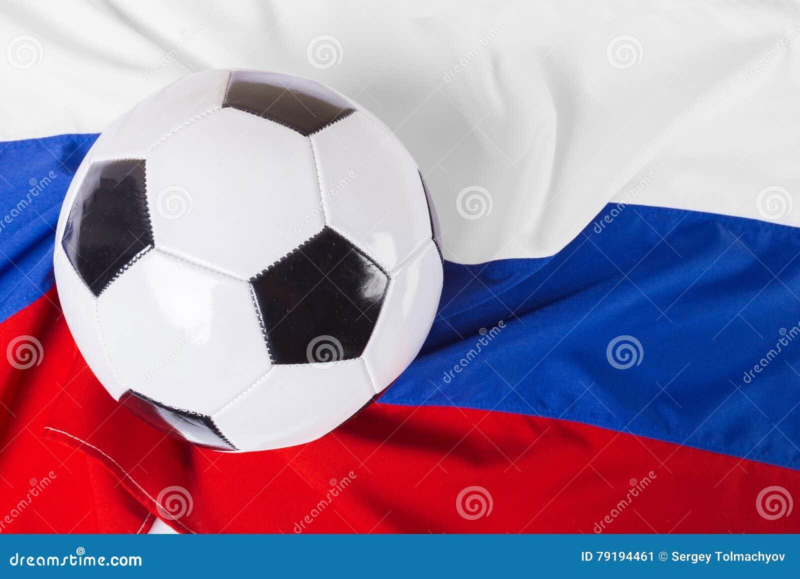 Флаг России с шариком