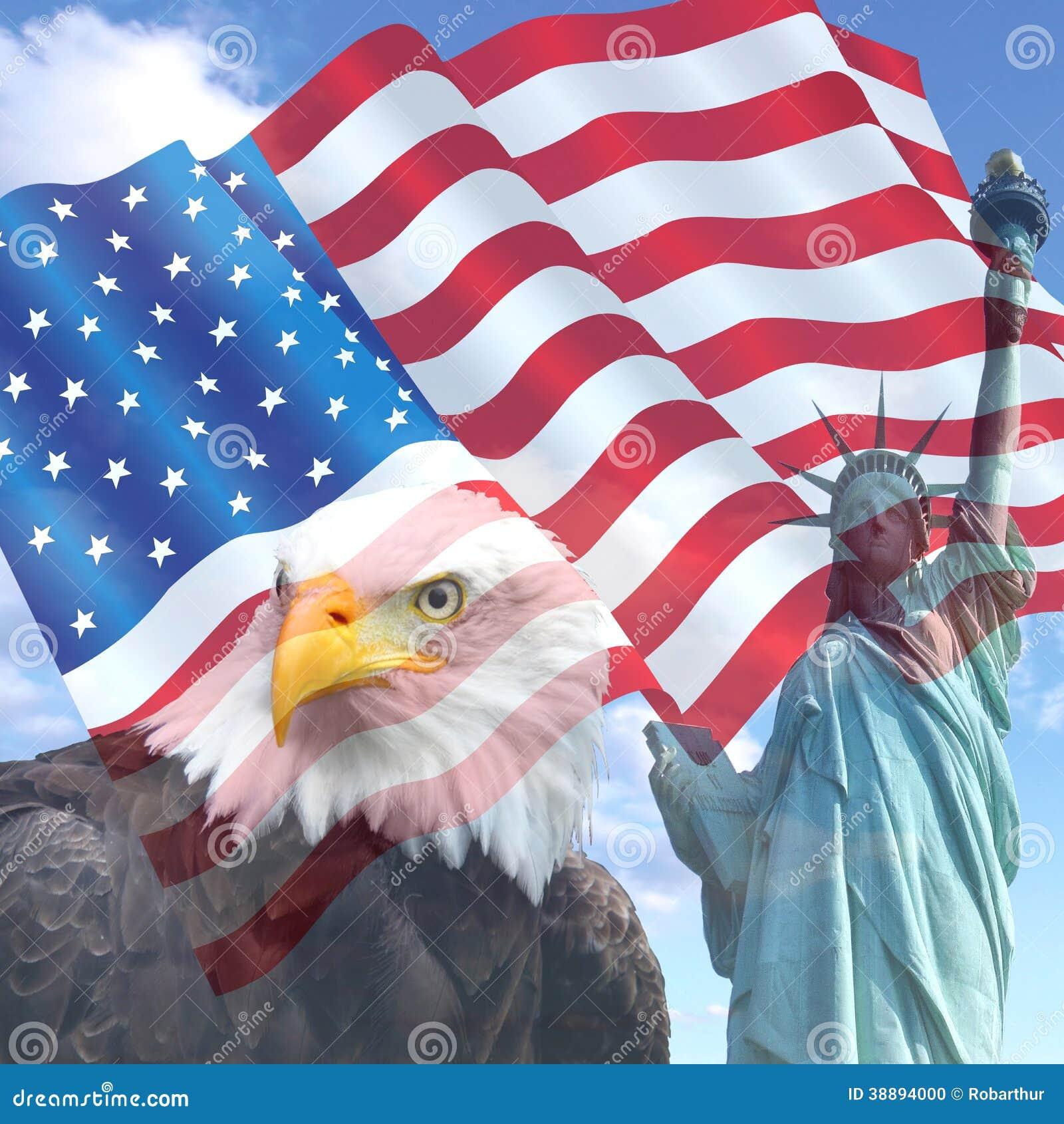 Флаг свободы США