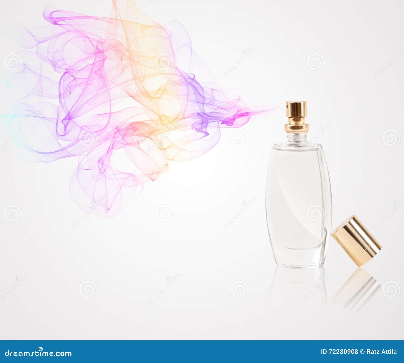 Download Флакон духов распыляя покрашенный нюх Стоковое Фото - изображение насчитывающей конспектов, покрашено: 72280908