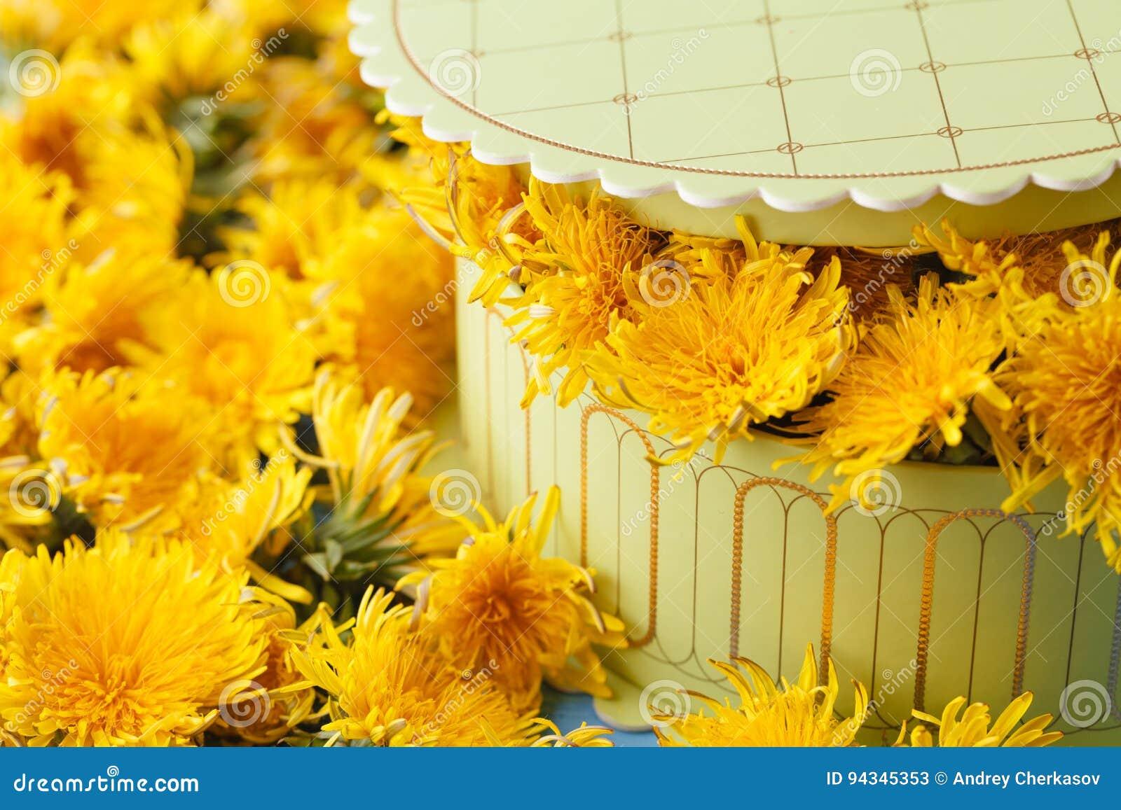 Как сделать цветки одуванчика