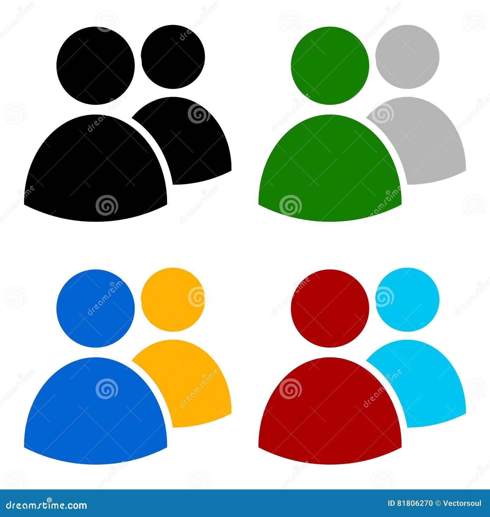 Характеры, воплощение, диаграмма символ в других цветах