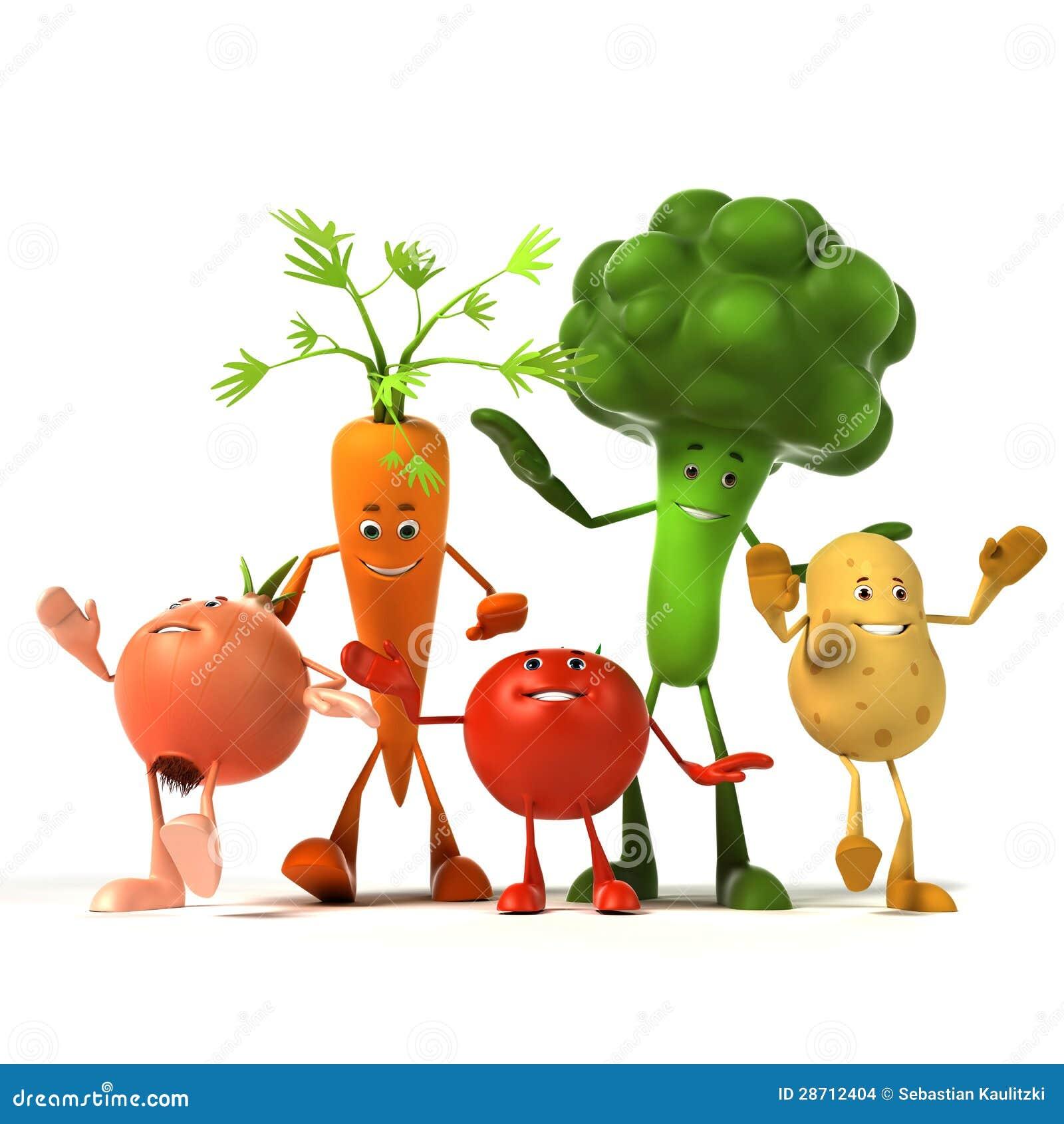 Характер еды - овощи