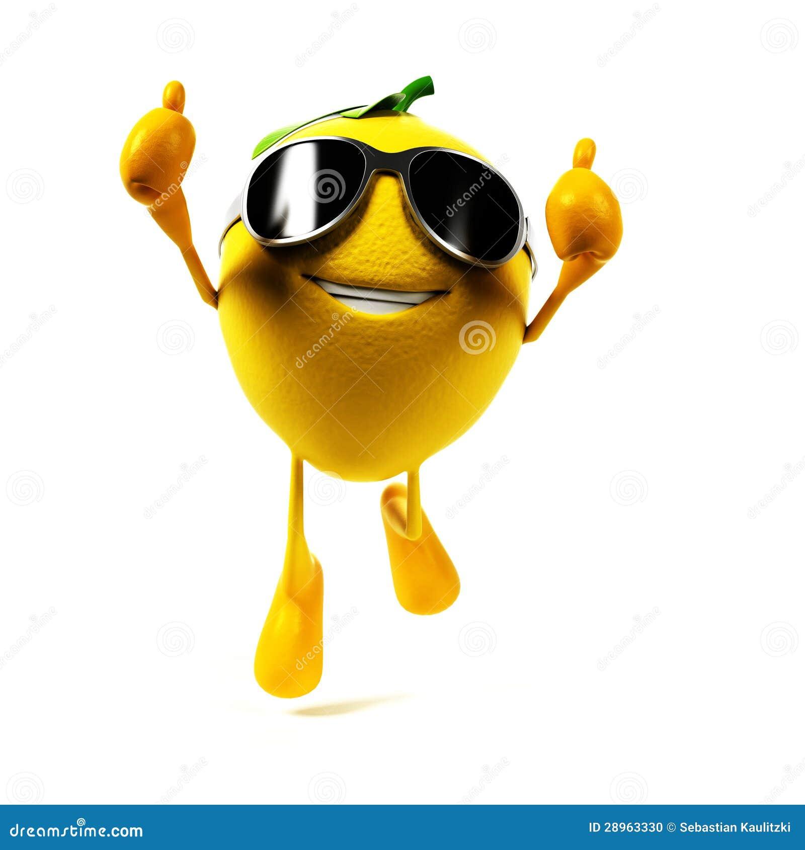 Характер еды - лимон