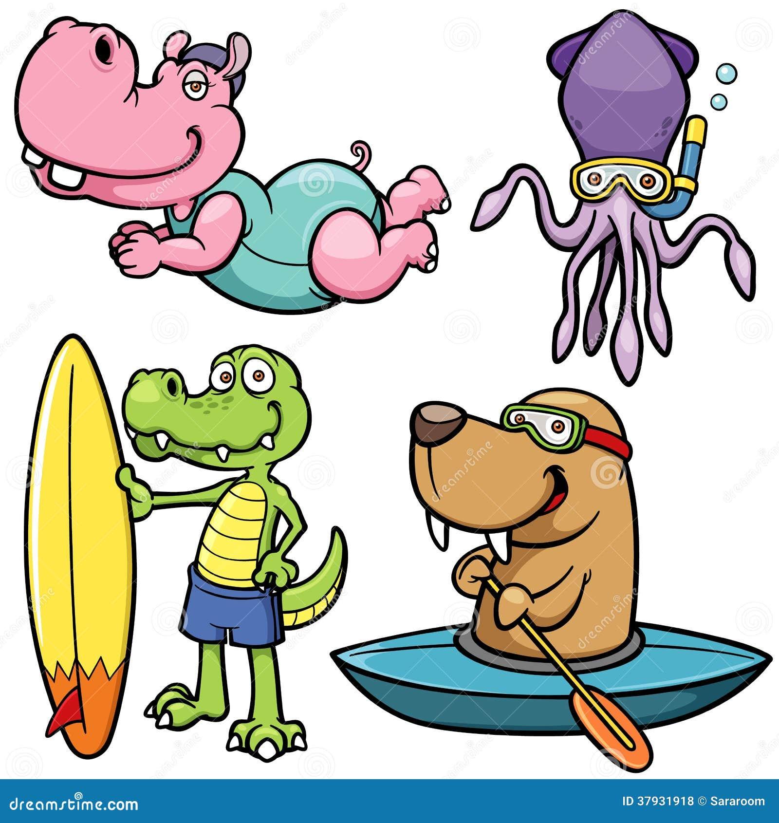 Характер животного водных видов спорта
