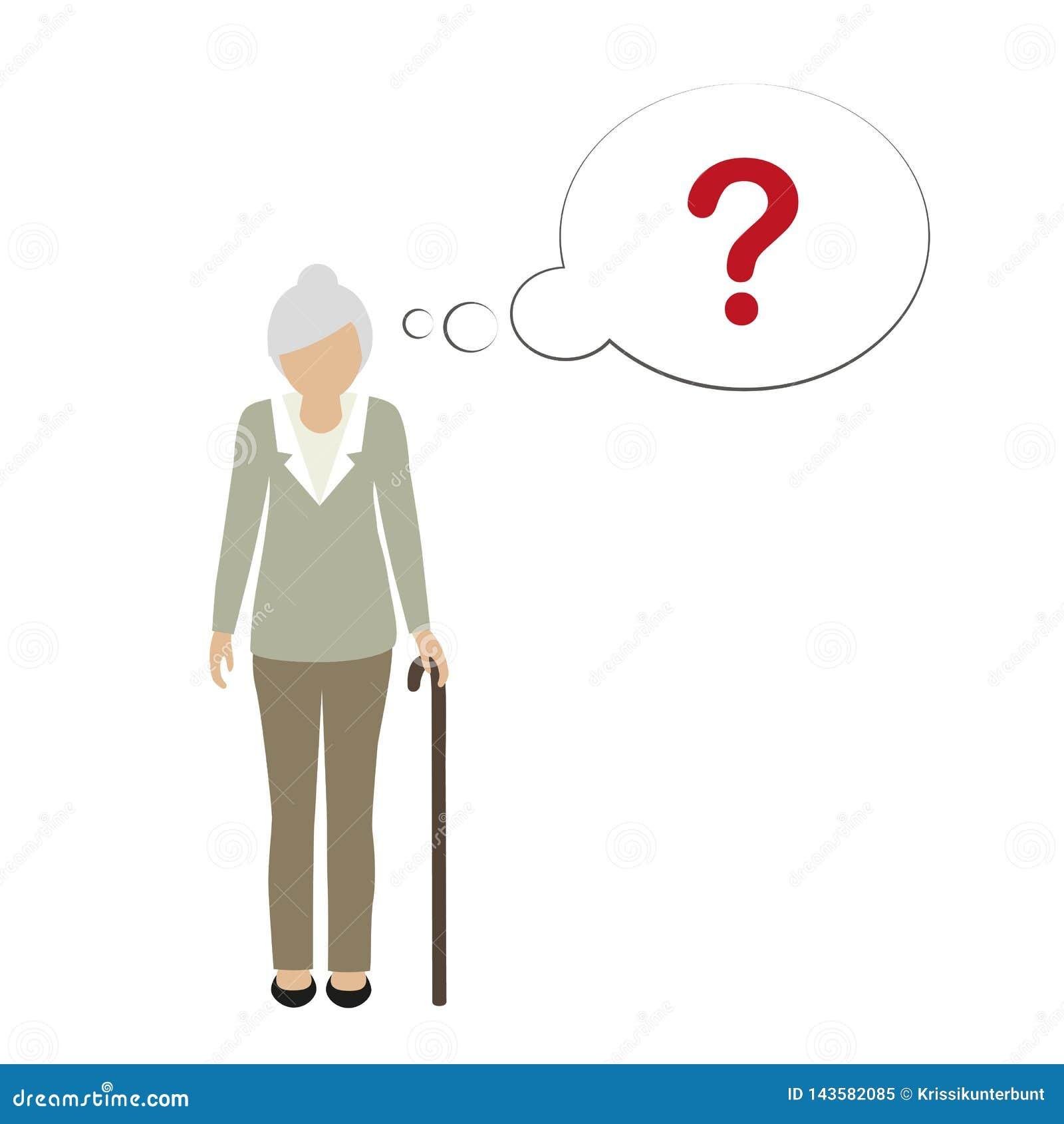 Характер старухи не может вспомнить