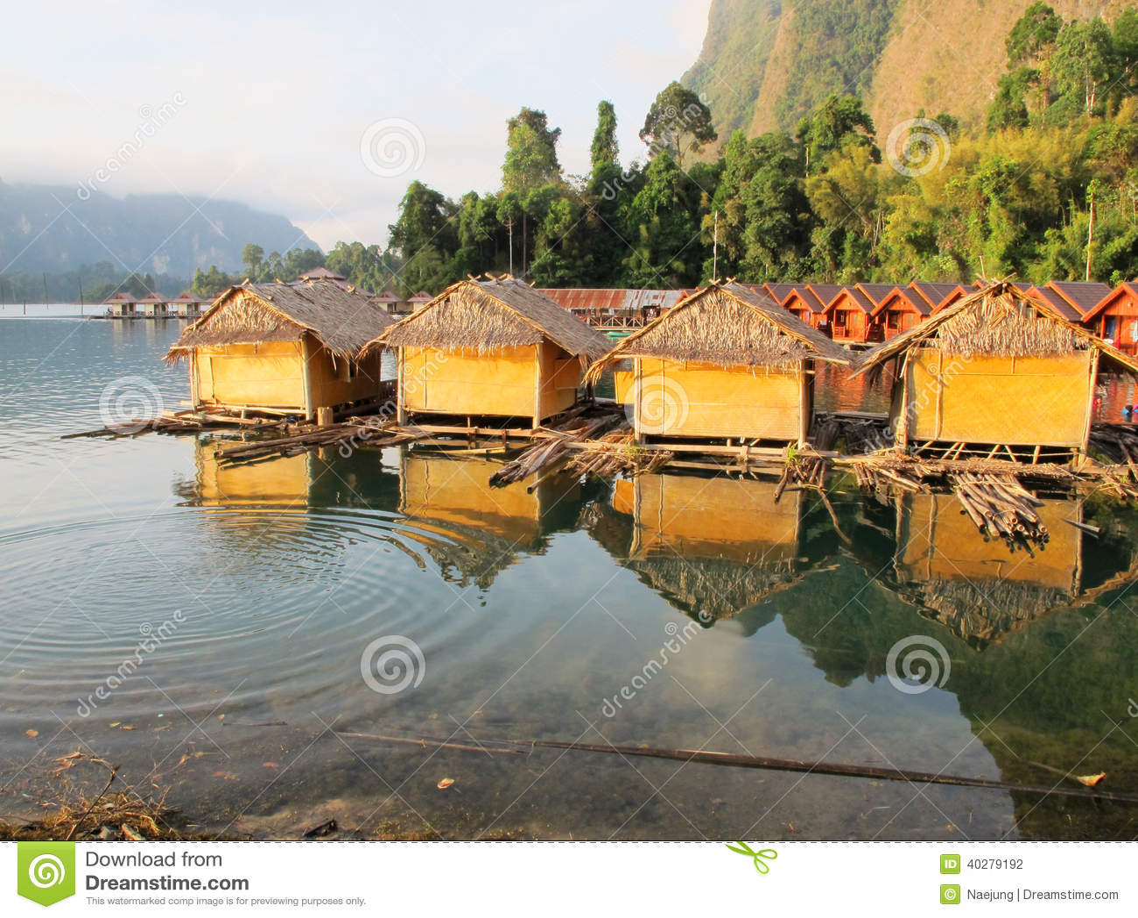 Хата 4 бамбуков