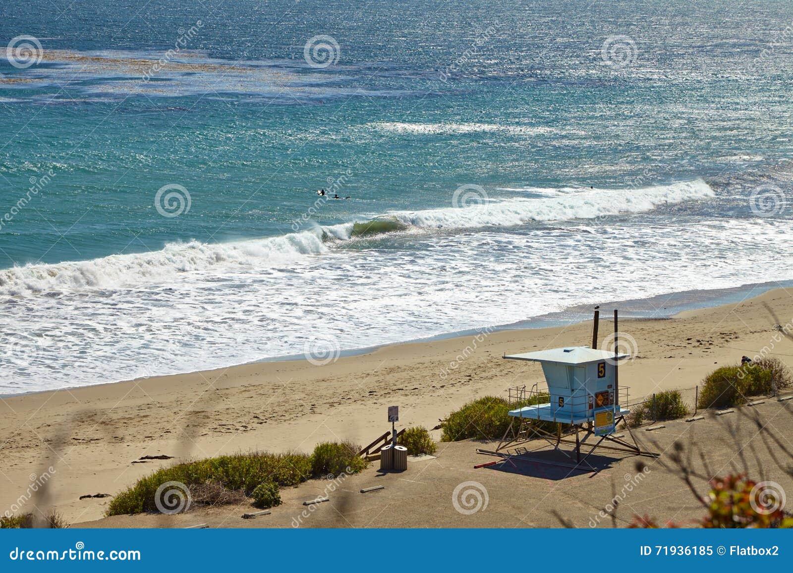 Хата личной охраны на пляже Malibu