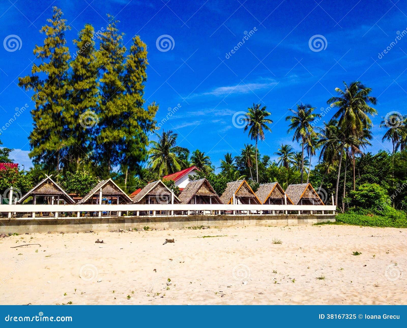 Хаты пляжа