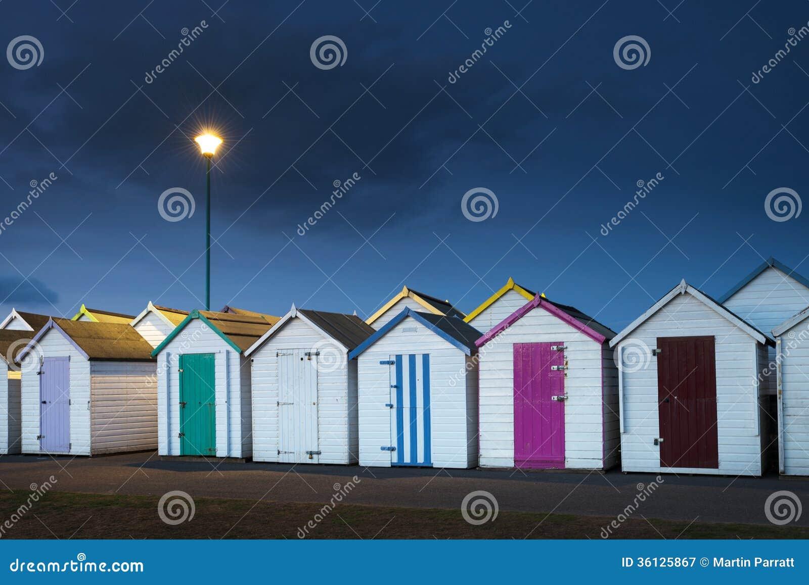 Хаты пляжа Goodrington