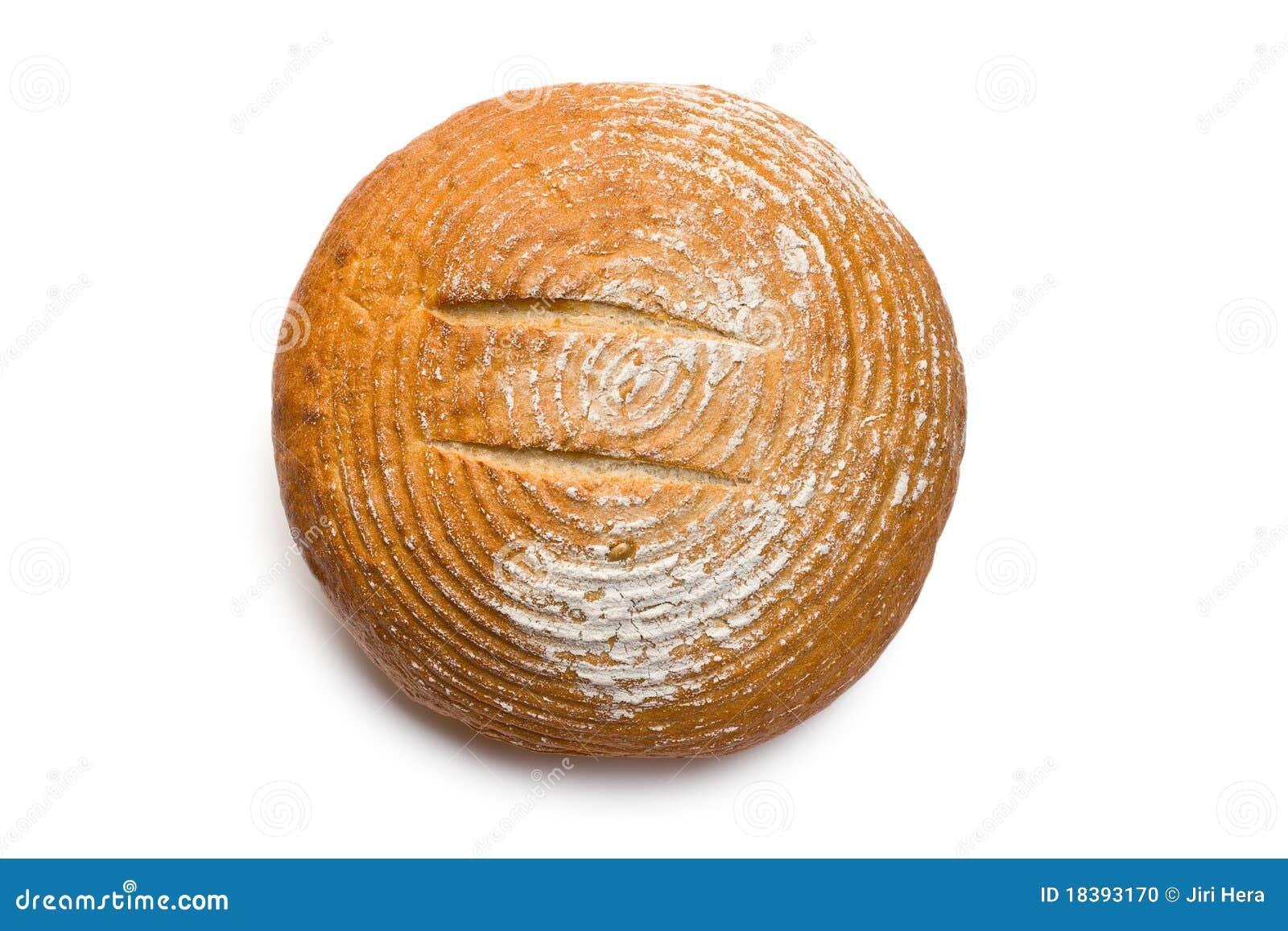 хлеб круглый