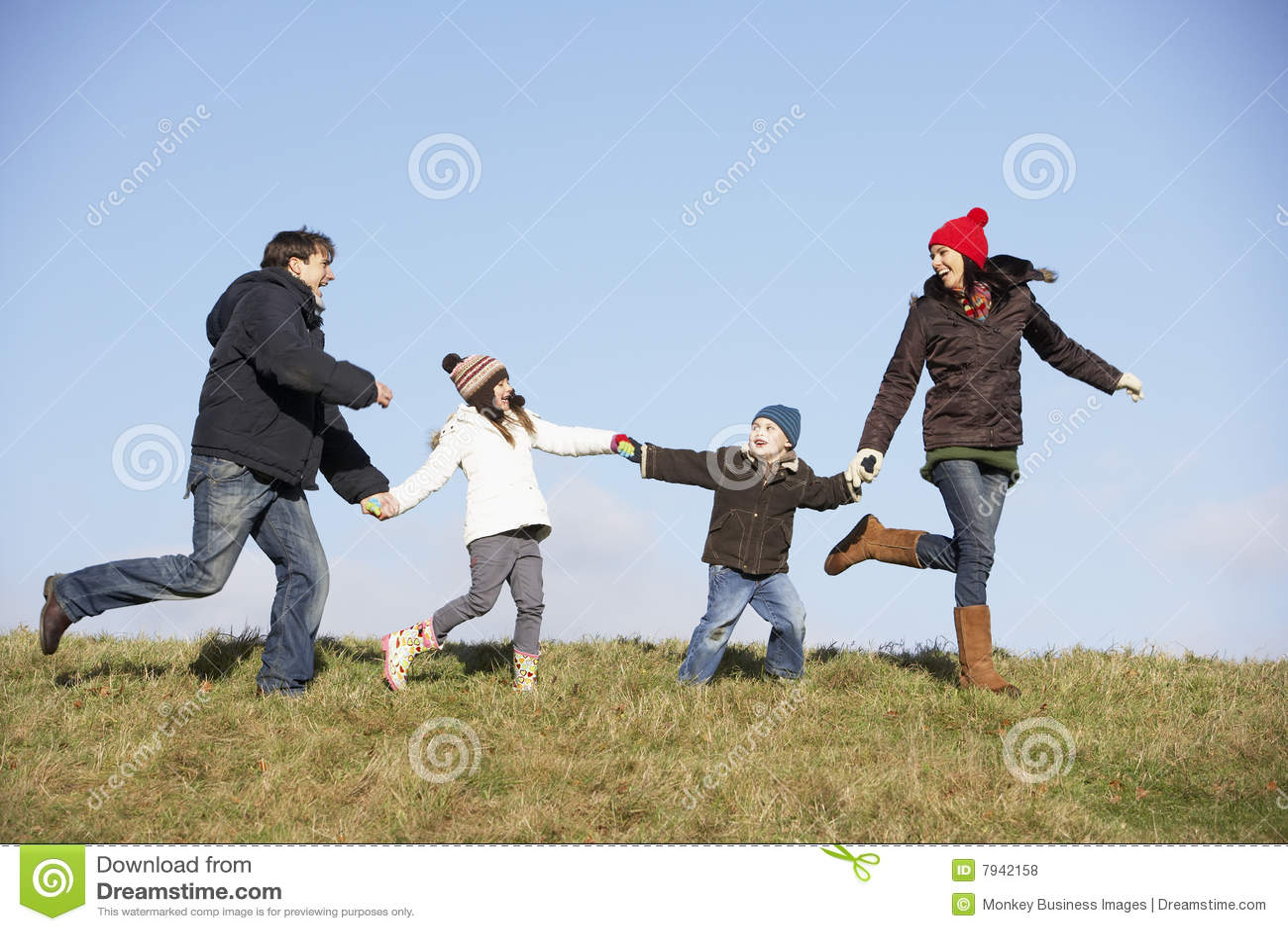 ход парка семьи